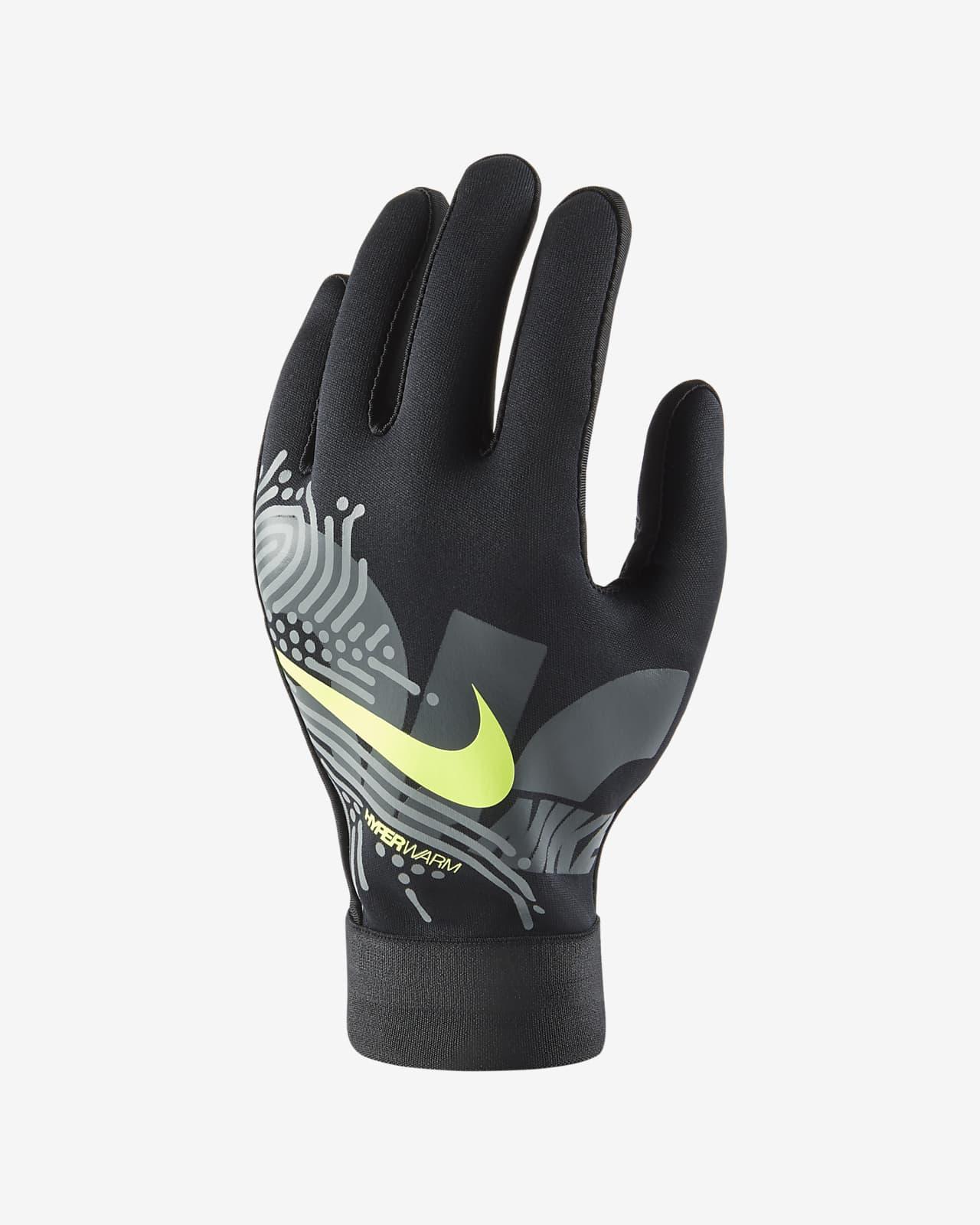 Guantes de fútbol para niños Nike HyperWarm Academy