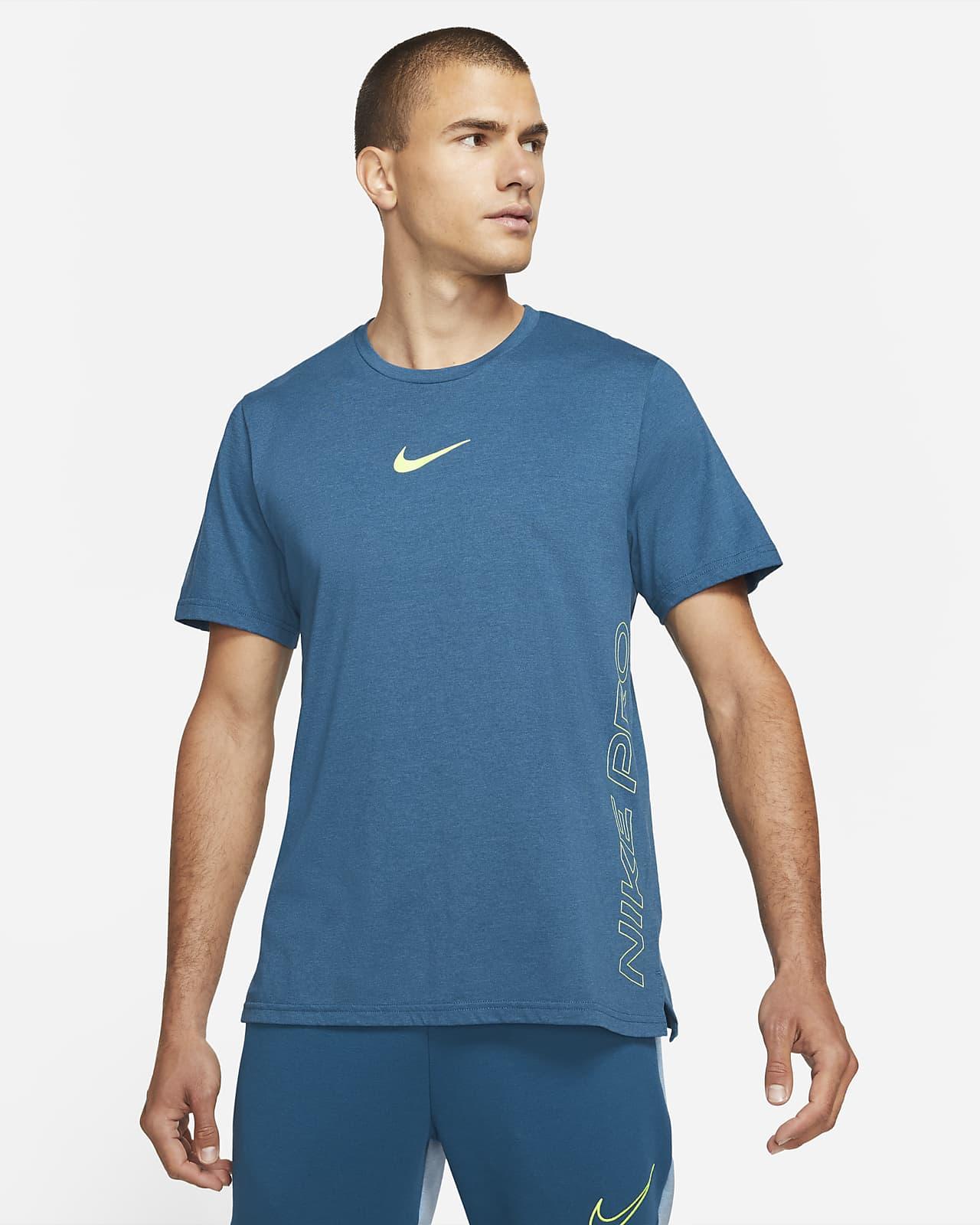 Maglia a manica corta Nike Pro Dri-FIT Burnout - Uomo