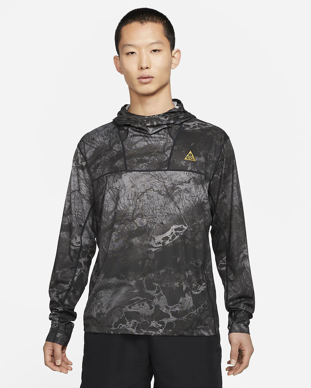 """Nike ACG Dri-FIT ADV UV """"Lava Tree"""" Men's All-Over Print Hoodie"""