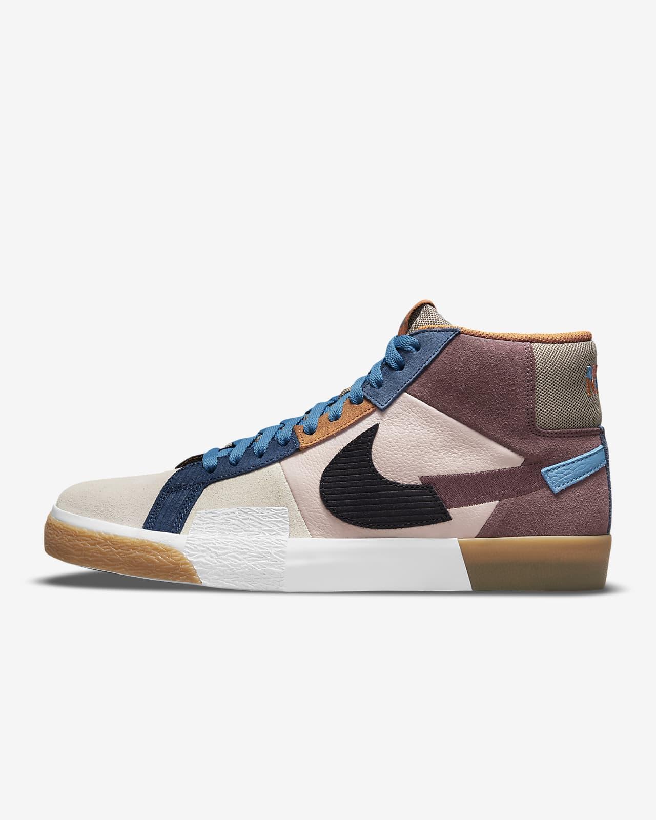 รองเท้าสเก็ตบอร์ด Nike SB Zoom Blazer Mid Premium