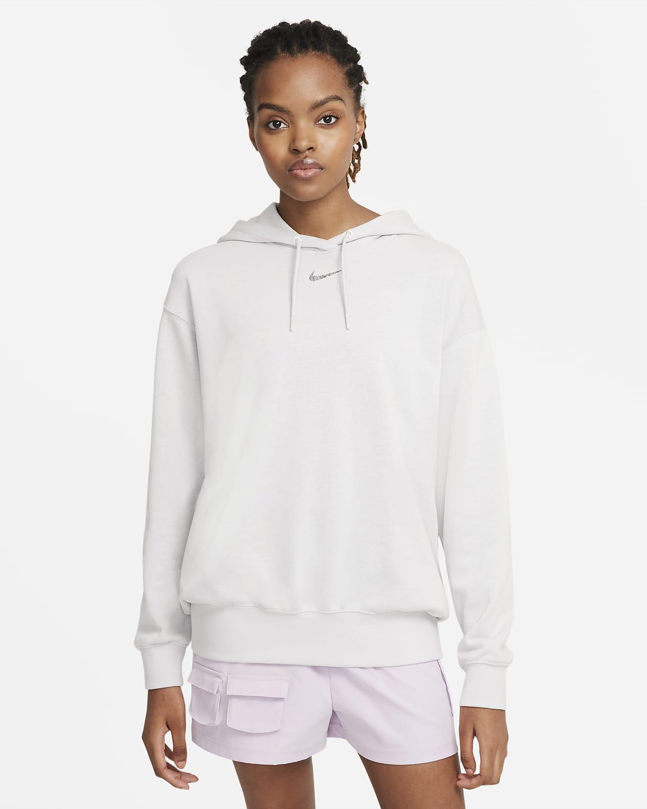 Женская флисовая худи свободного кроя Nike Sportswear Collection Essentials