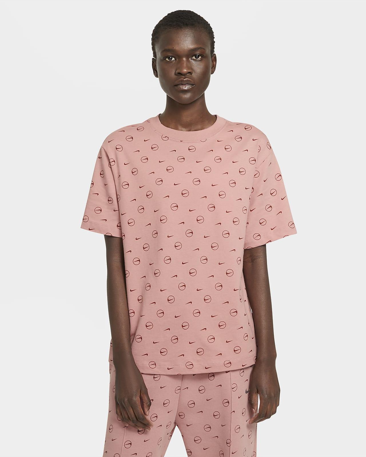 T-shirt Nike Sportswear med tryck för kvinnor