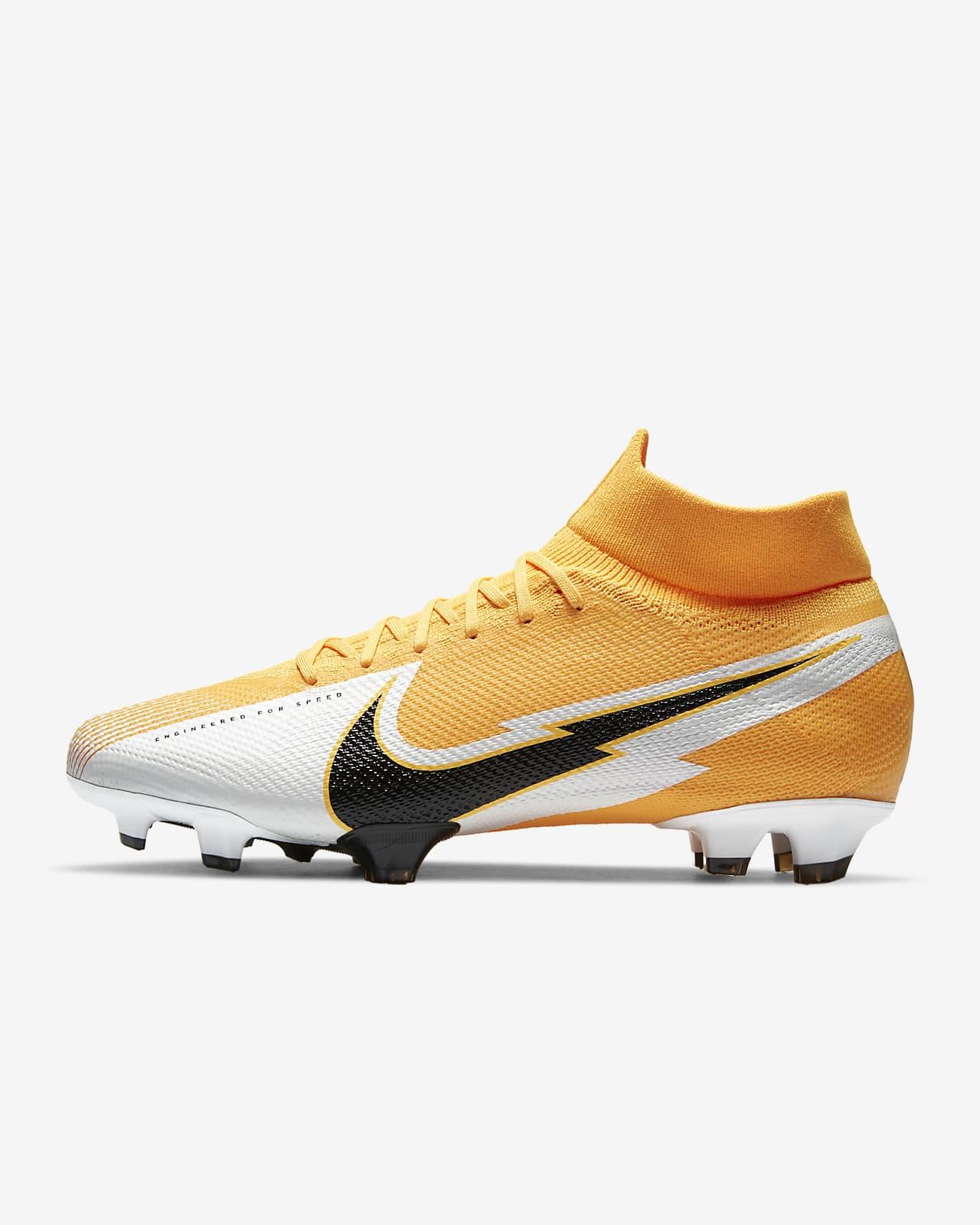 Nike Mercurial Superfly 7 Pro FG 天然偏硬草地足球釘鞋