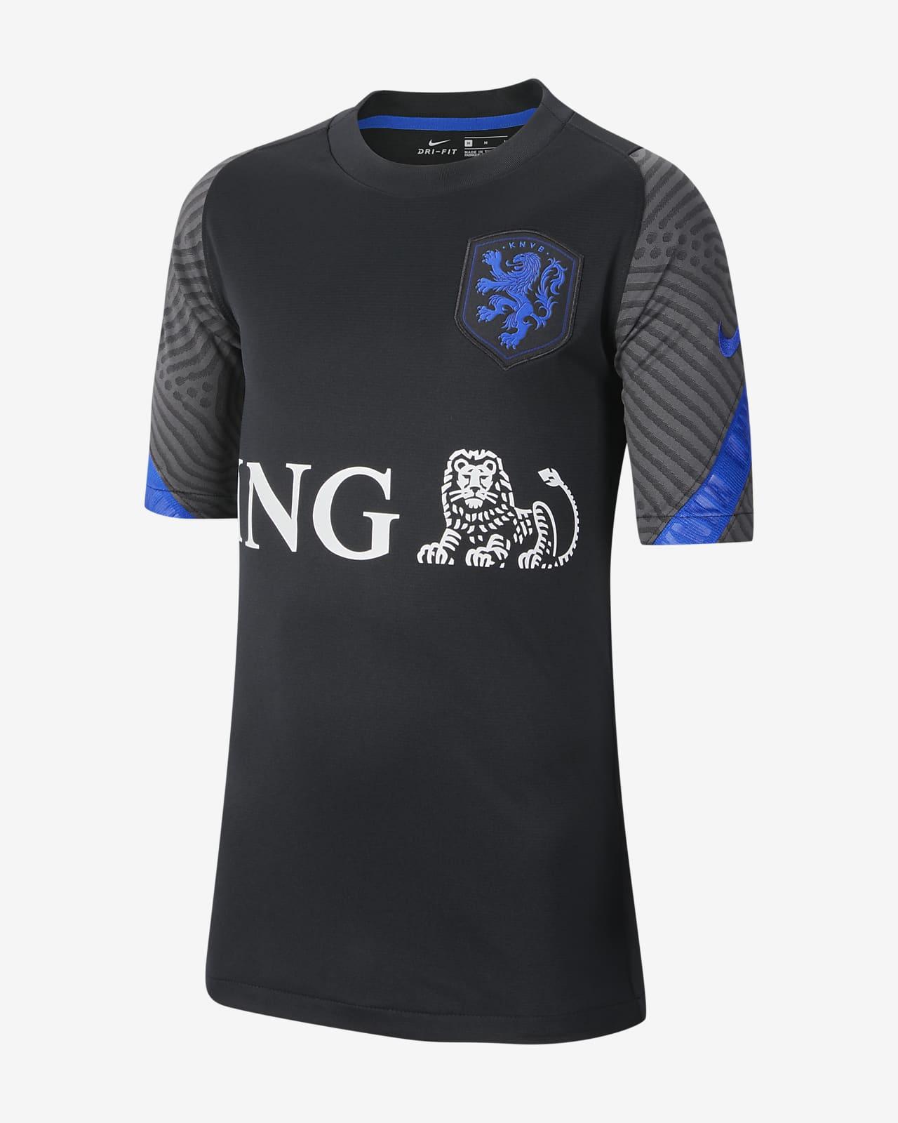 Camisola de futebol de manga curta Strike Países Baixos Júnior