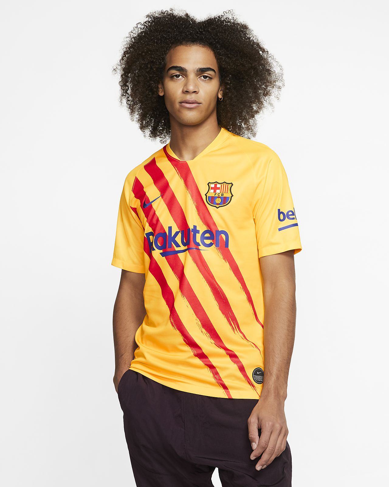 FC Barcelona Stadium Fourth Herren-Fußballtrikot