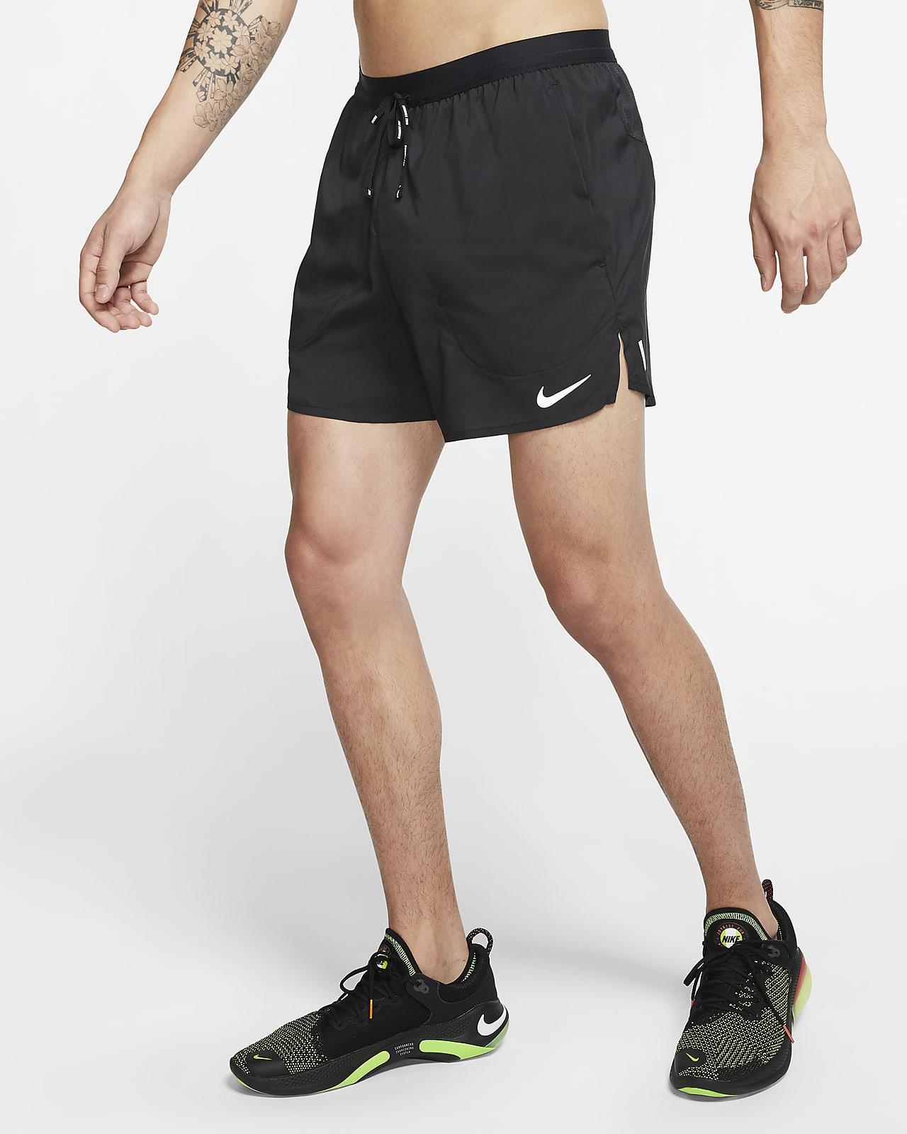 Löparshorts Nike Flex Stride 12,5 cm med innerbyxor för män