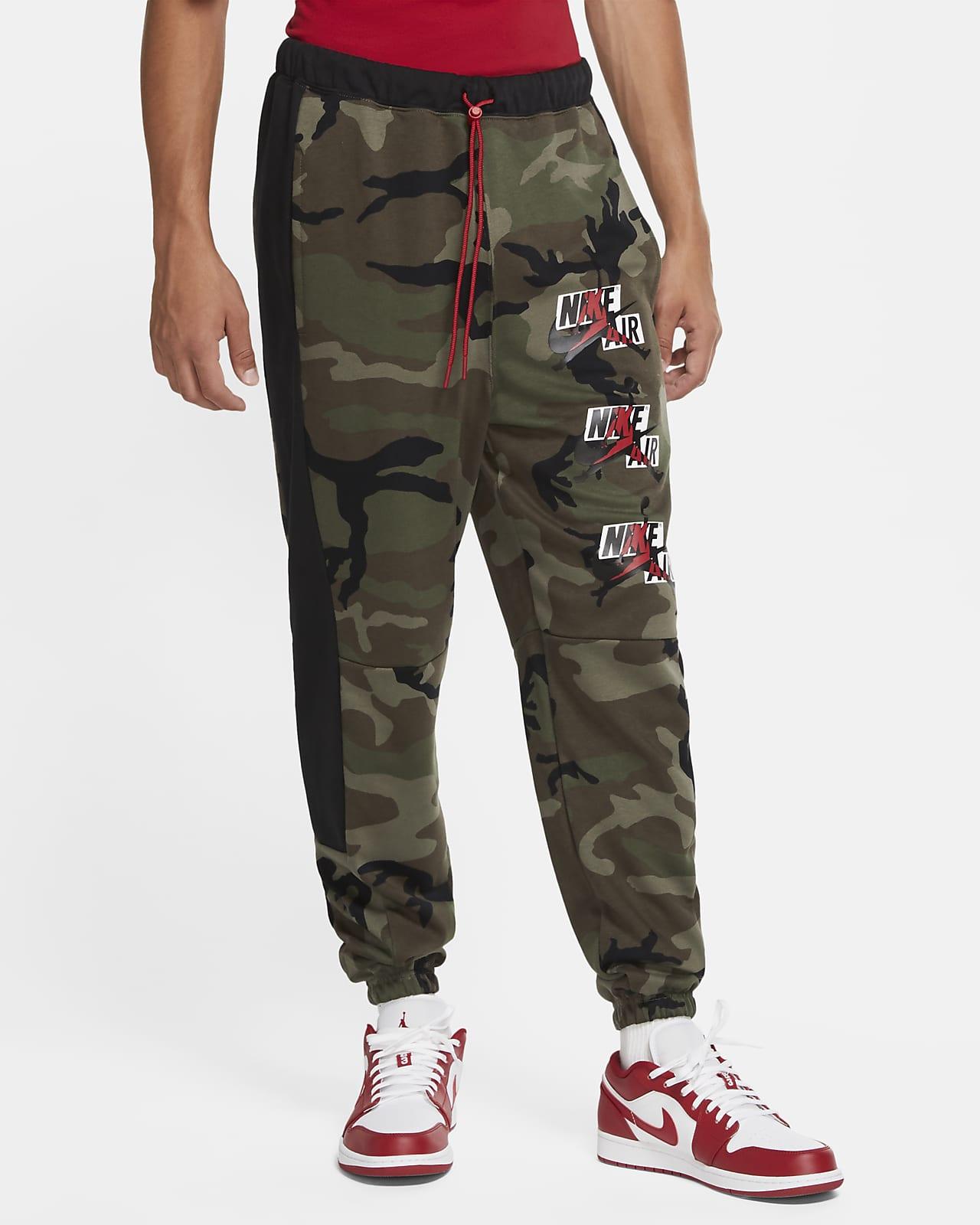 Jordan Jumpman Classics Men's Camo Fleece Trousers