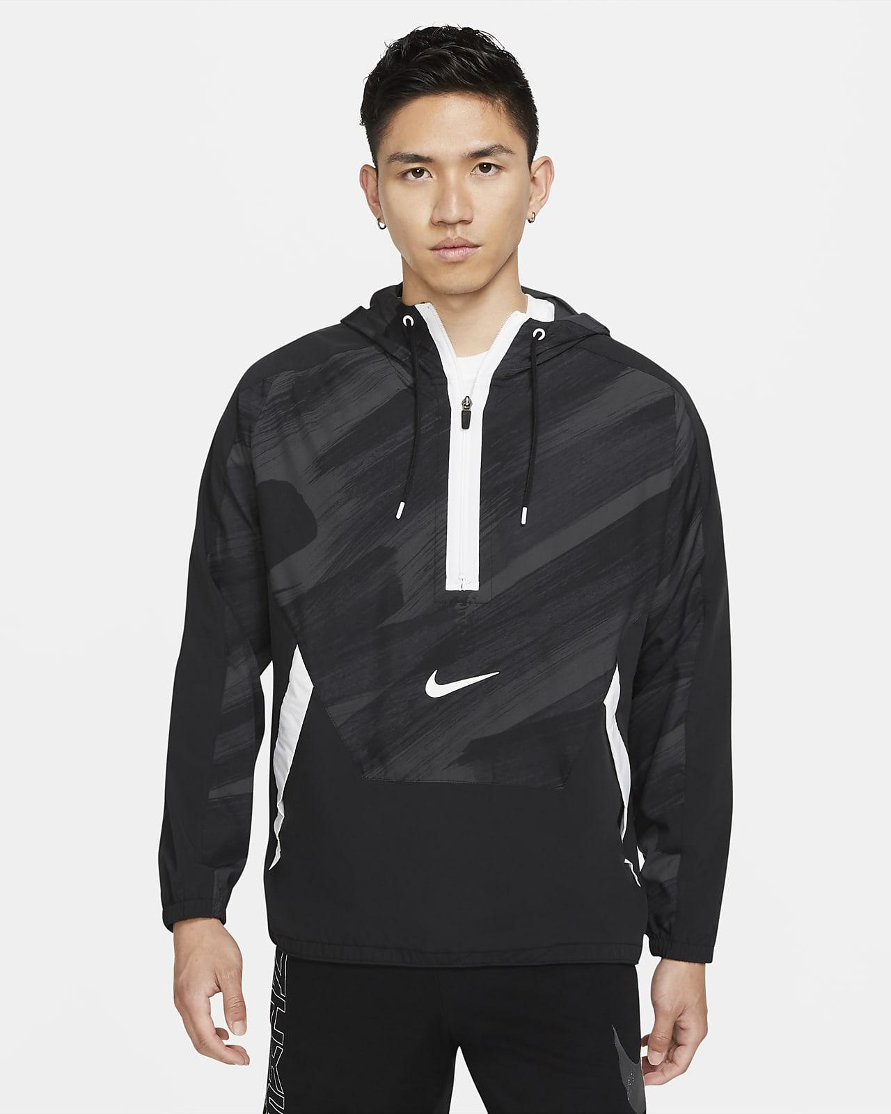 Nike Dri-FIT Sport Clash Men's Woven 1/2-Zip Training Hoodie