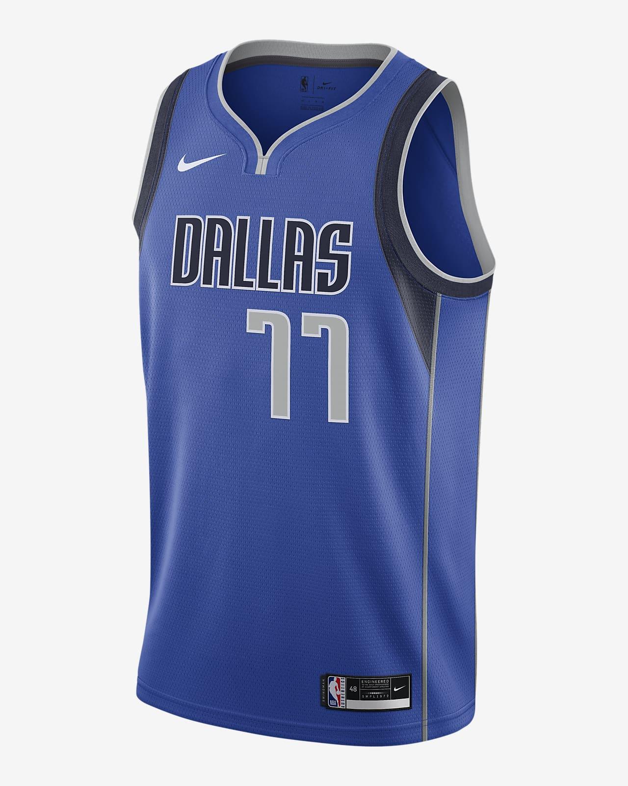 Luka Dončić Mavericks Icon Edition 2020 Nike NBA Swingman Jersey