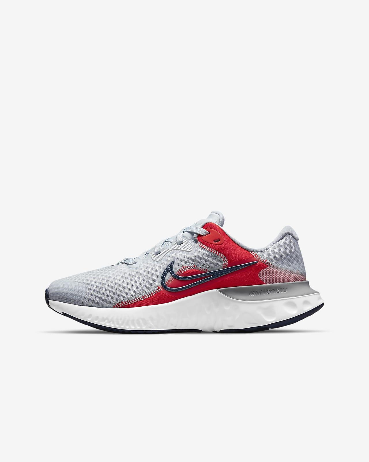 Calzado de running para carretera para niños talla grande Nike Renew Run 2