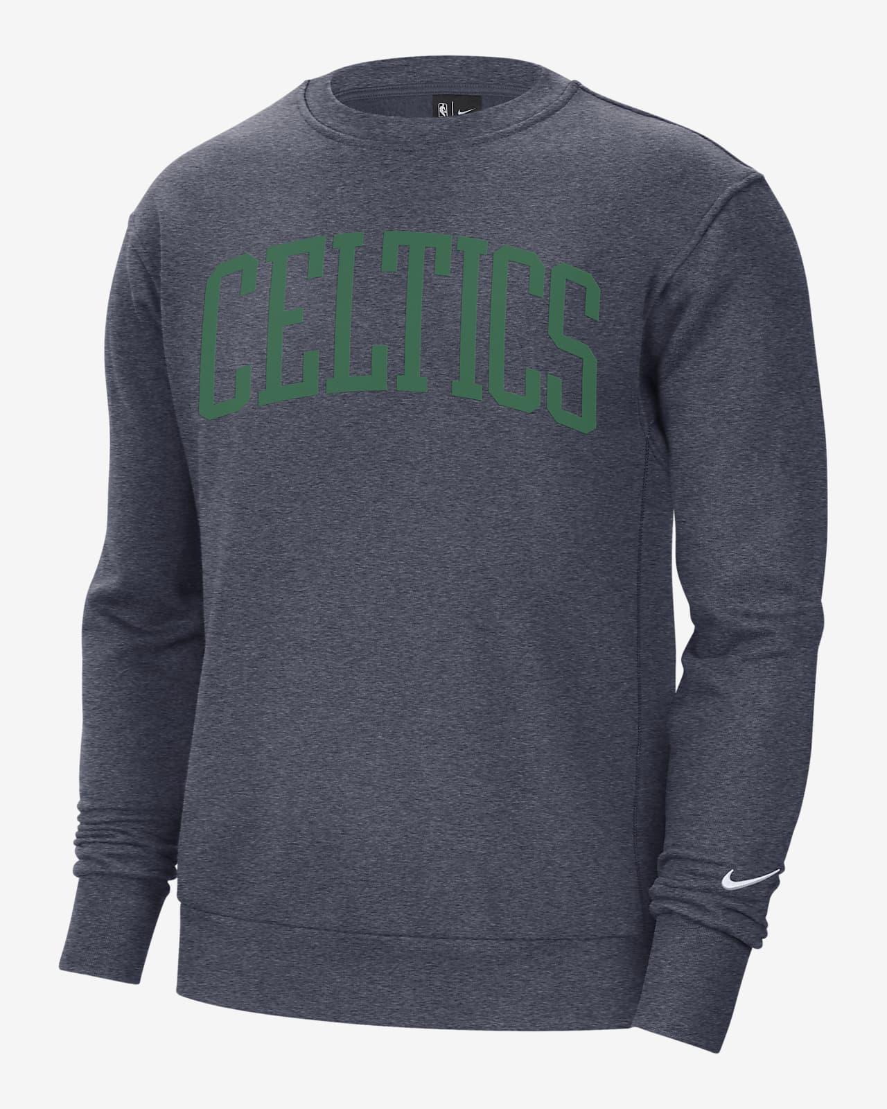Boston Celtics Courtside Heritage Men's Nike NBA Fleece Crew Sweatshirt