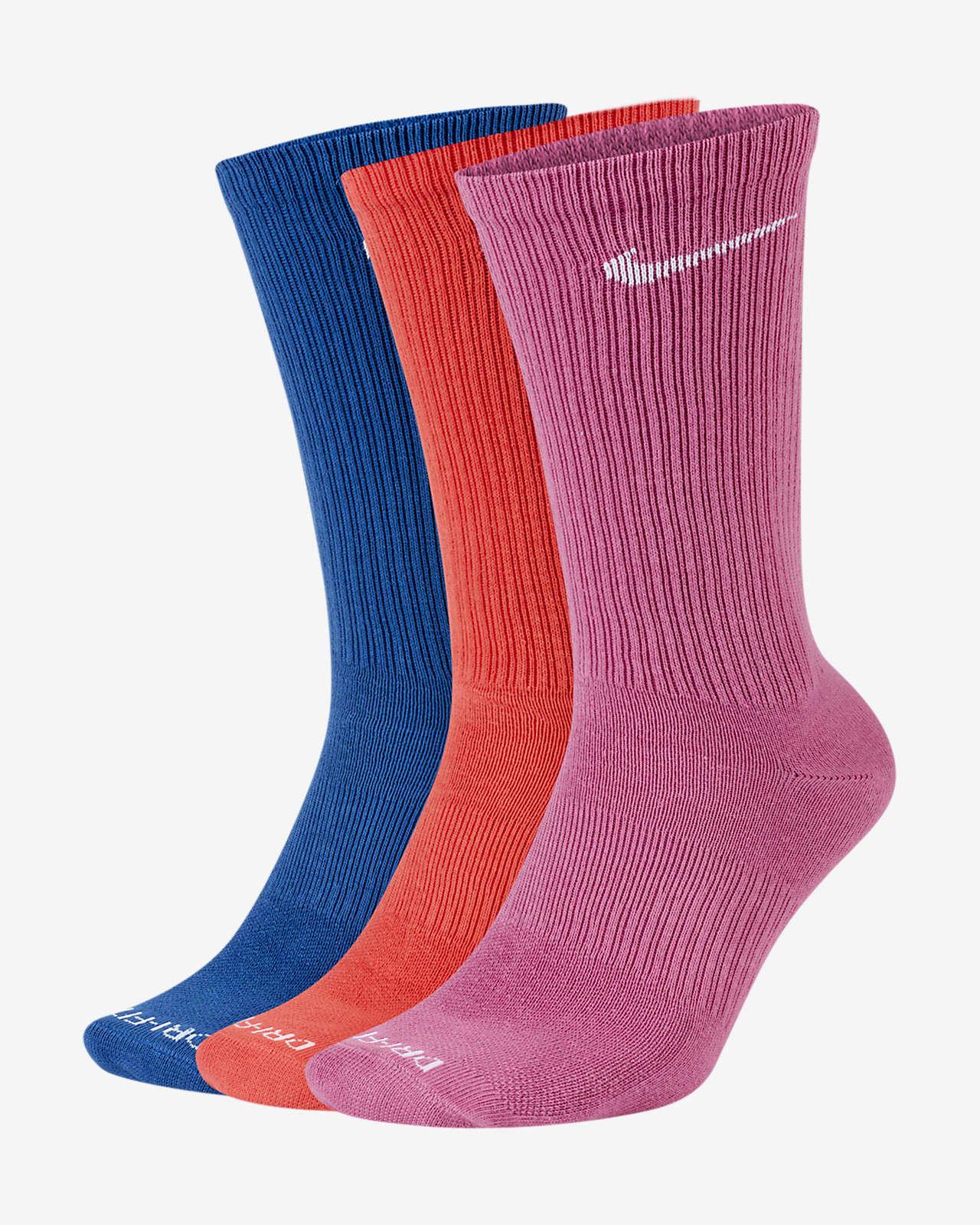 Nike Everyday Plus Lightweight Women's Training Crew Socks (3 Pairs)