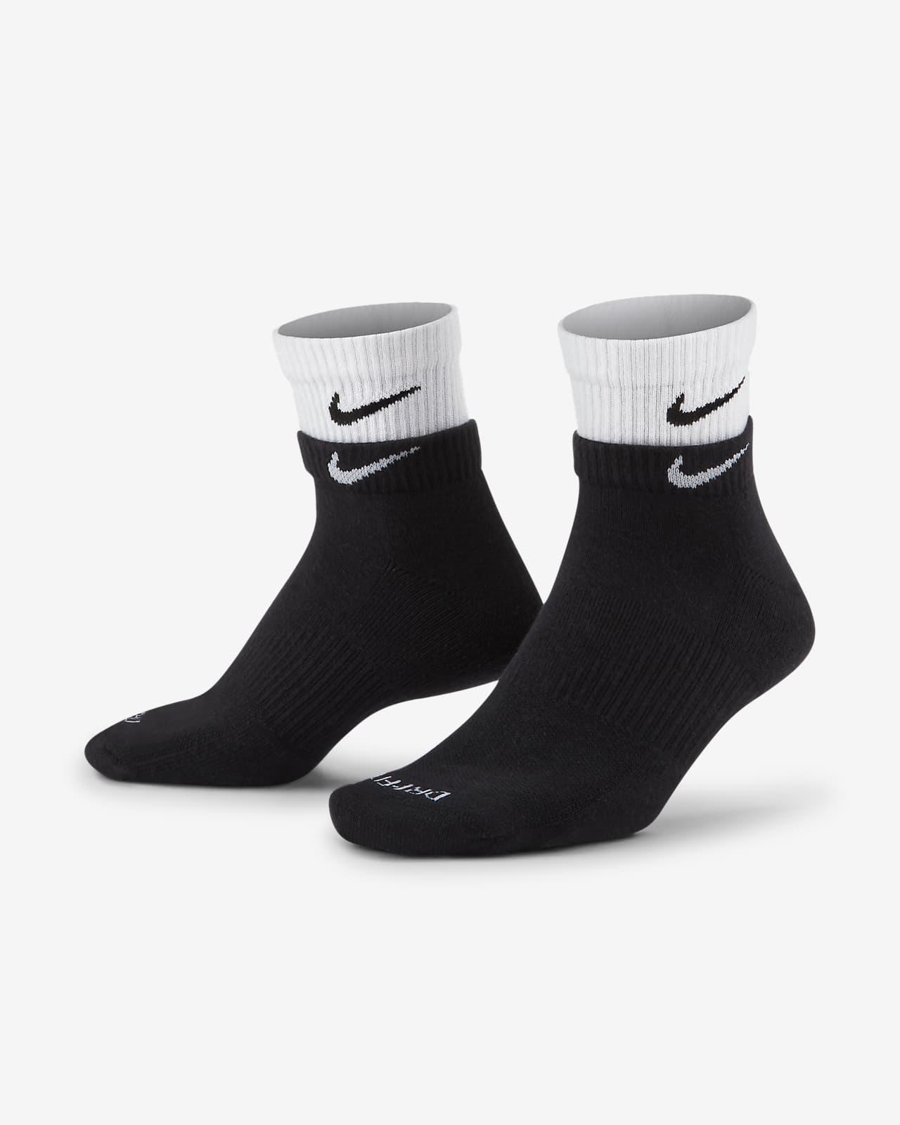 Calcetines de entrenamiento al tobillo Nike Everyday Plus Cushioned