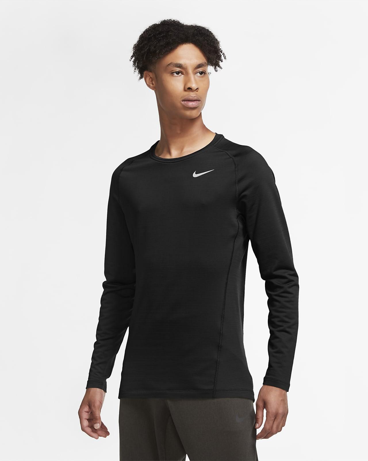 Nike Pro Warm Langarm-Oberteil für Herren