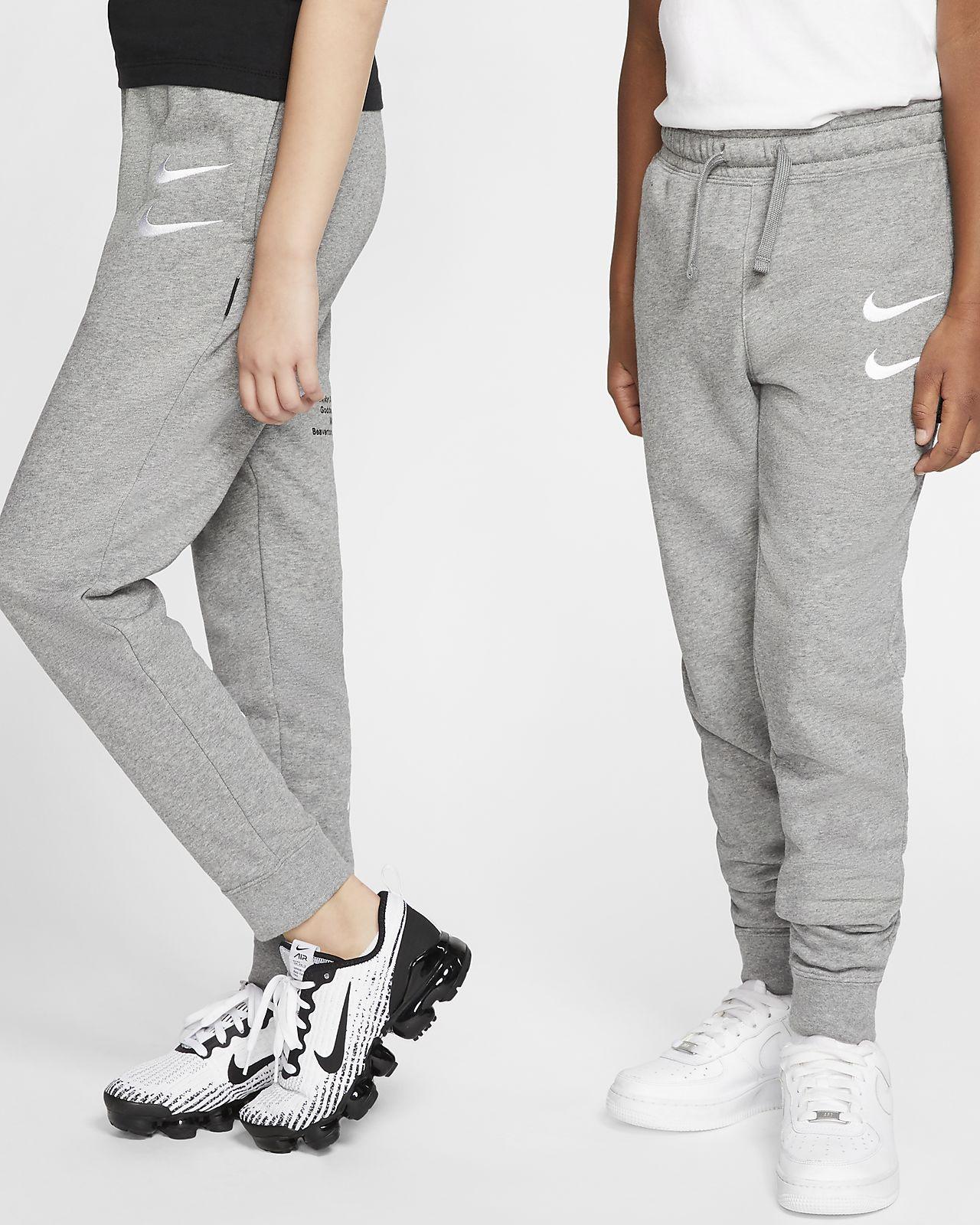 Nike Sportswear Swoosh francia frottír nadrág nagyobb gyerekeknek