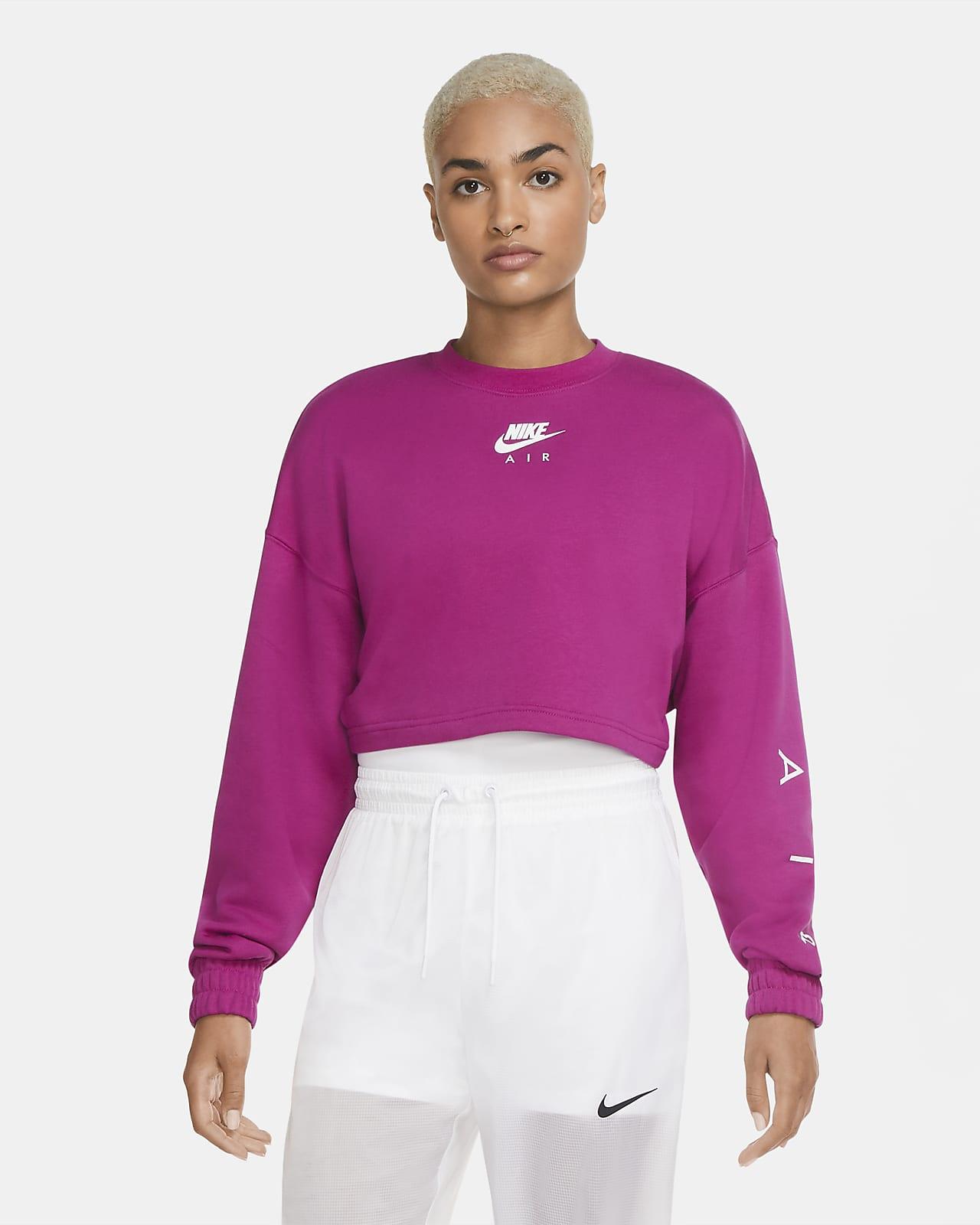 Nike Air Women's Cropped Fleece Crew