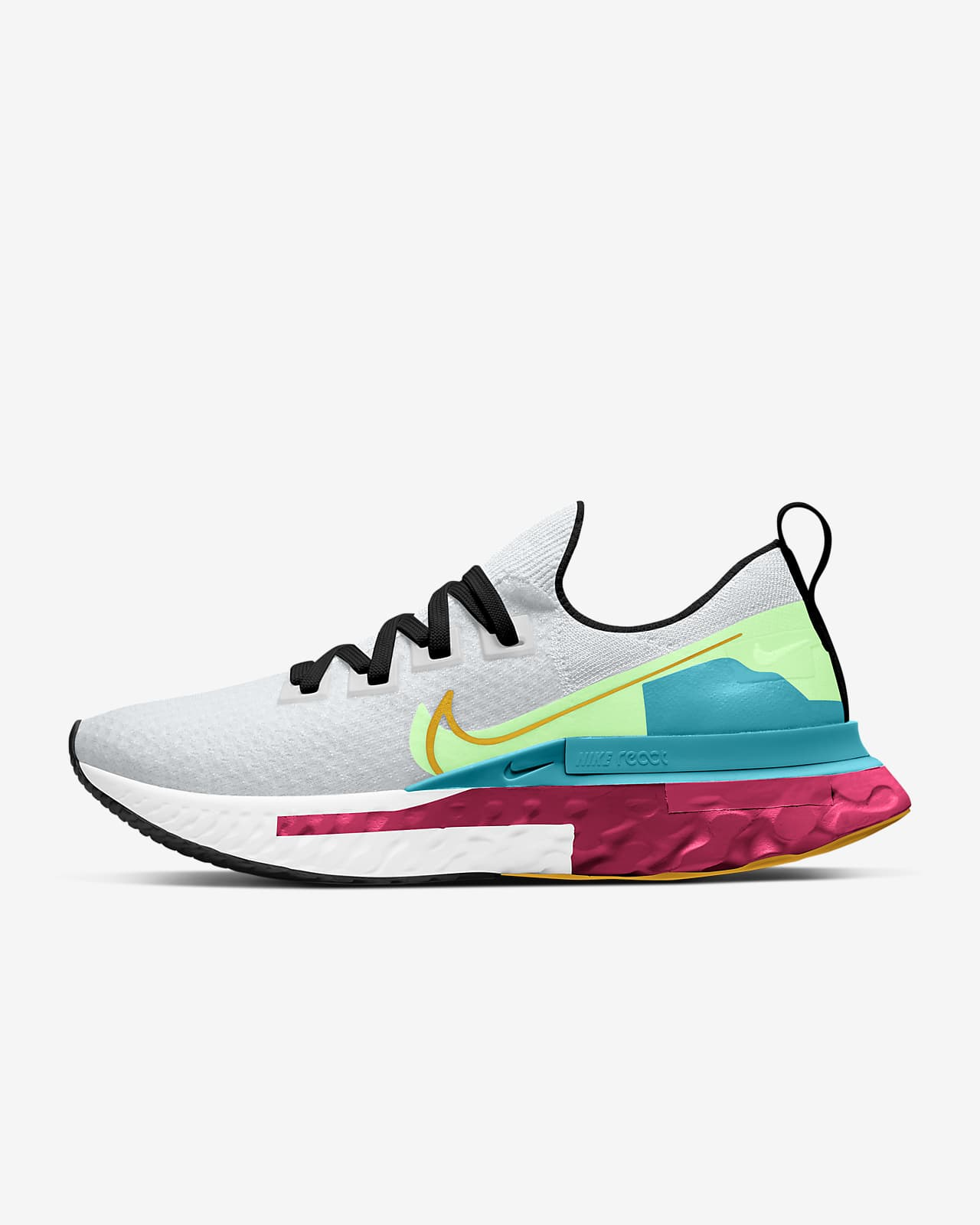 Nike React Infinity Run Flyknit Premium Womens Running & Cash Back