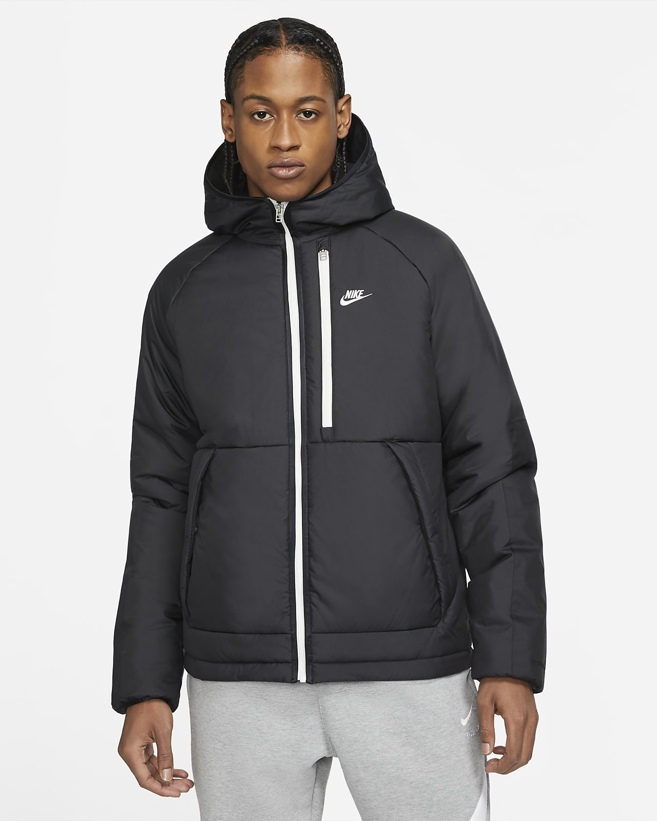 Nike Sportswear Therma-FIT Legacy Kapüşonlu Erkek Ceketi