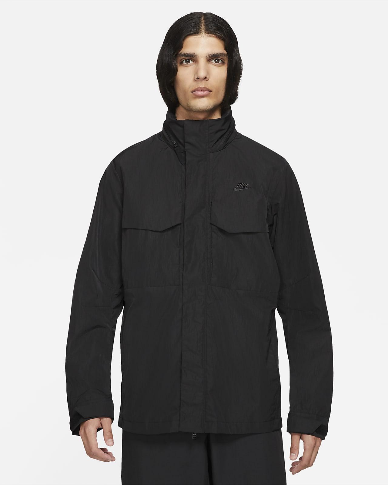 Мужская куртка M65 с капюшоном без подкладки Nike Sportswear Premium Essentials