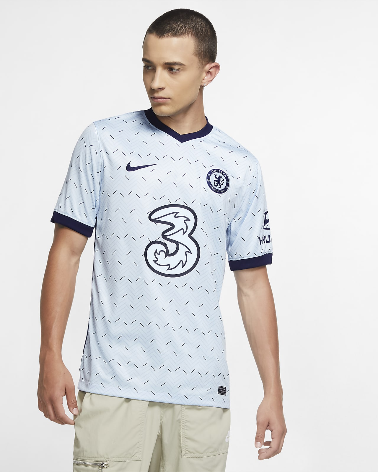 Chelsea F.C. 2020/21 Stadium Away Men's Football Shirt