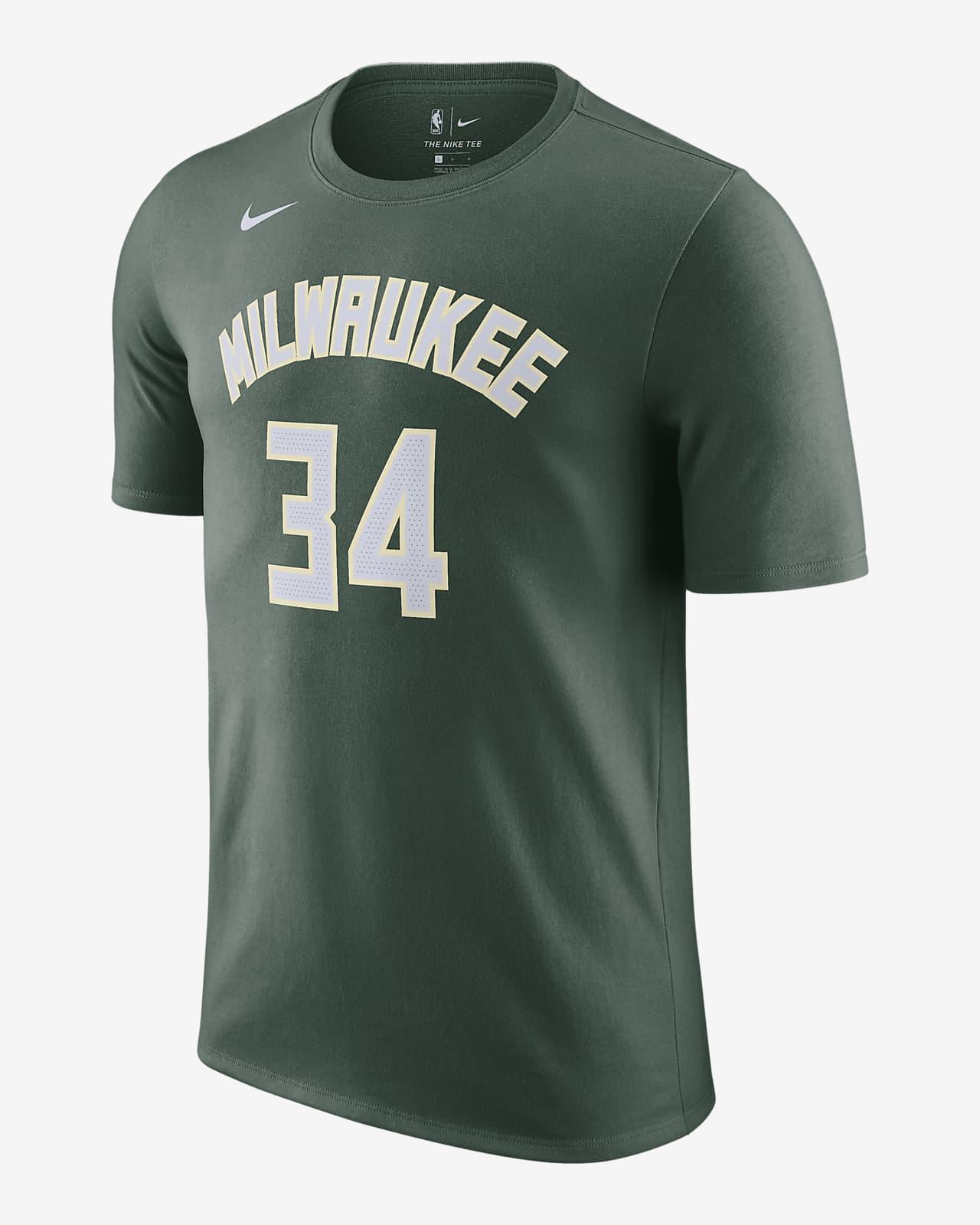 Giannis Antetokounmpo Bucks Nike NBA-T-Shirt für Herren