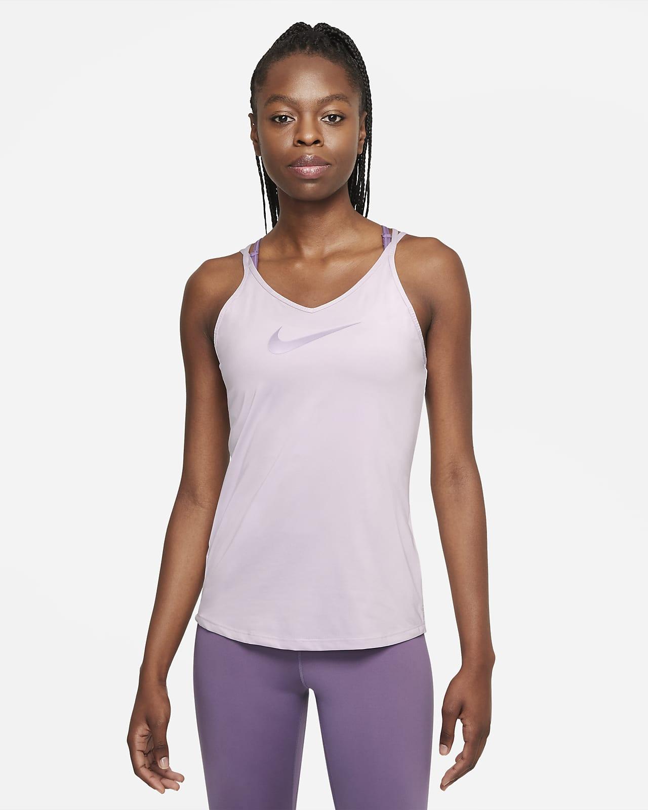เสื้อกล้ามทรงเข้ารูปผู้หญิง Nike Dri-FIT One Strappy
