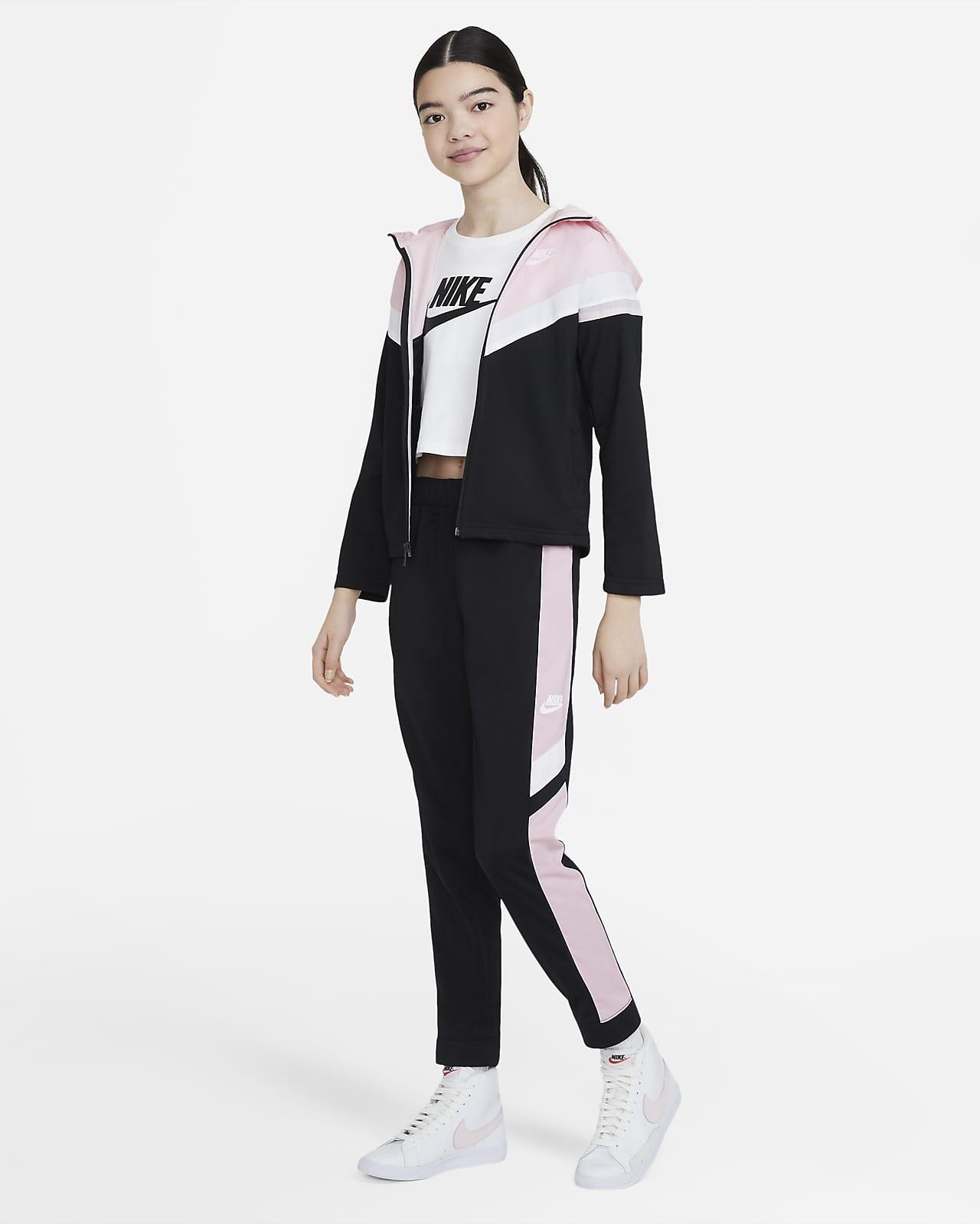 Conjunto de entrenamiento para niños talla grande Nike Sportswear