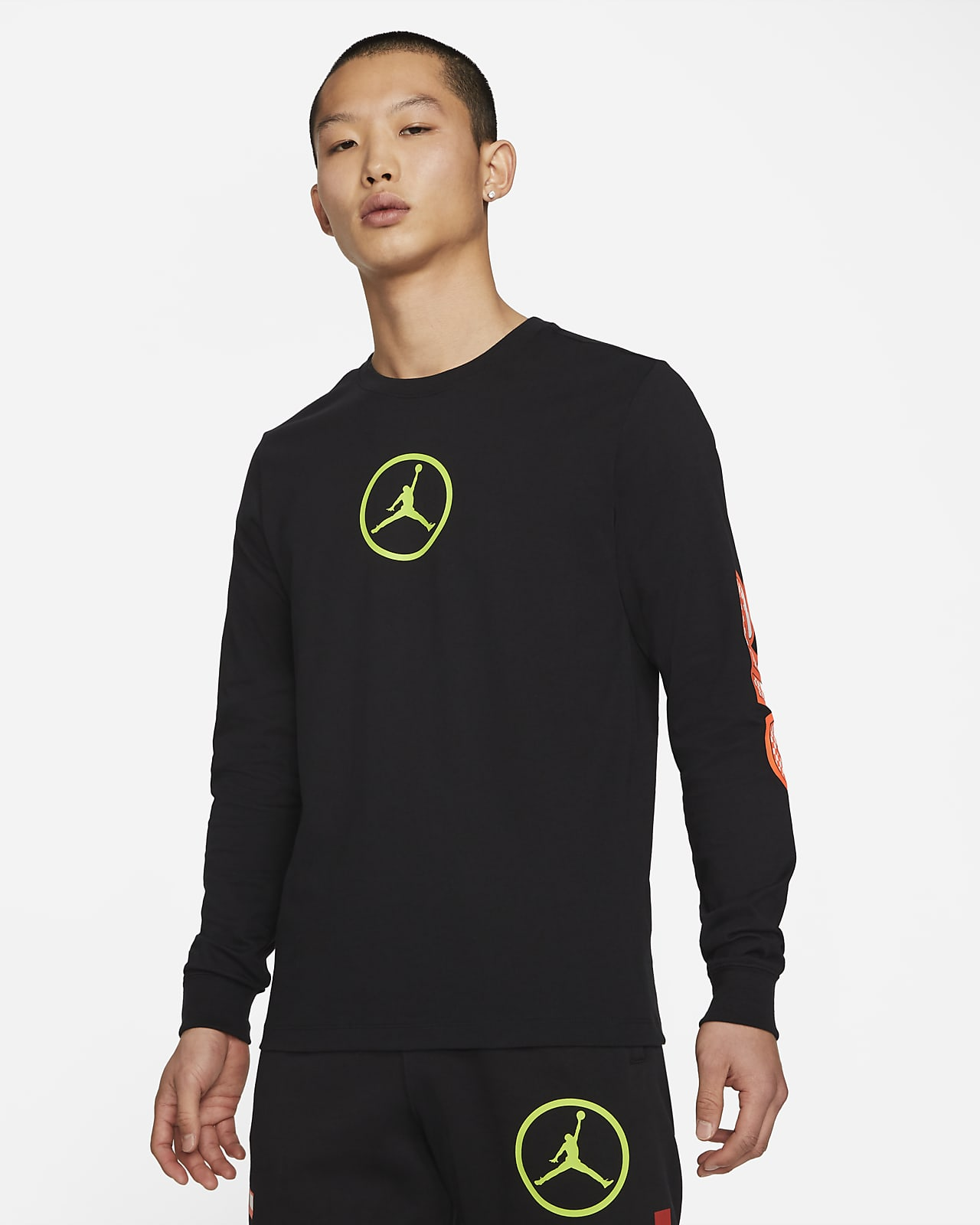 Jordan Sport DNA Men's Long-Sleeve T-Shirt