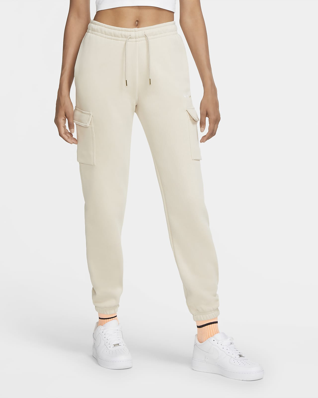 Nike Sportswear Women's Loose-Fit Fleece Cargo Trousers