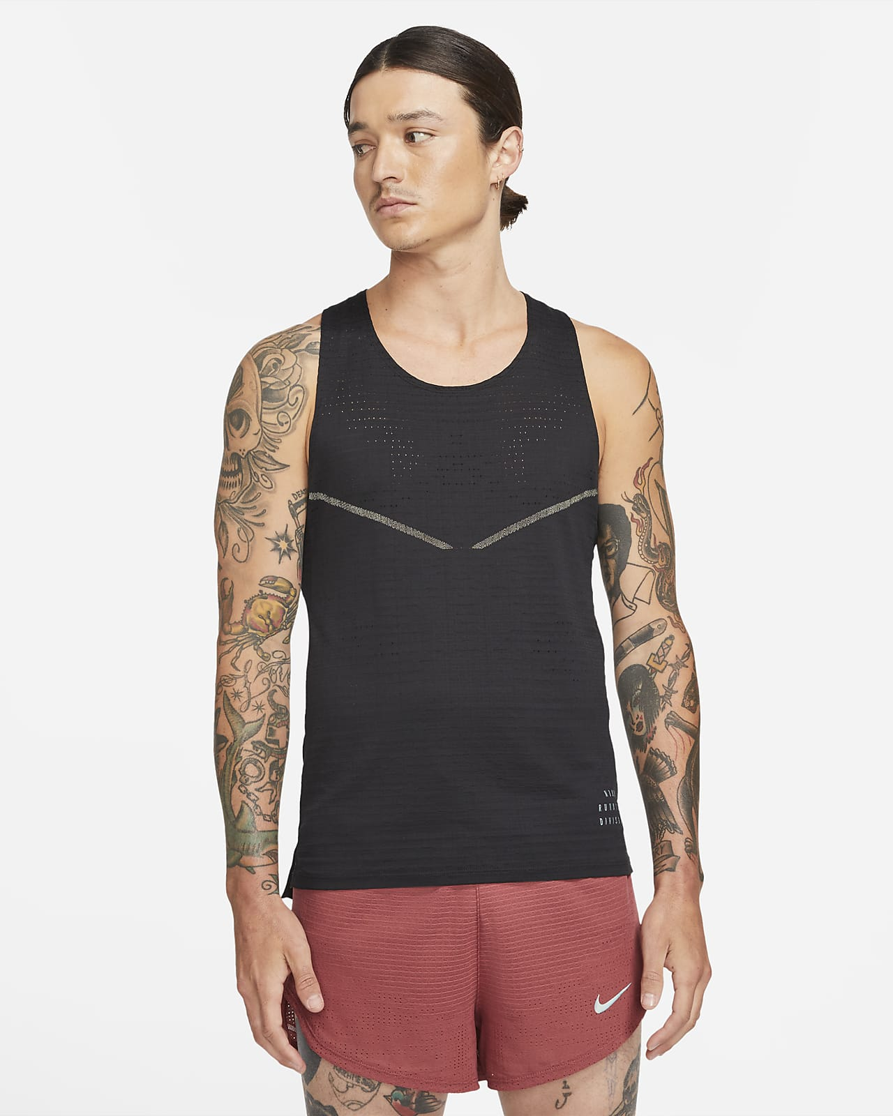 Camiseta de tirantes de running para hombre Nike Dri-FIT ADV Run Division