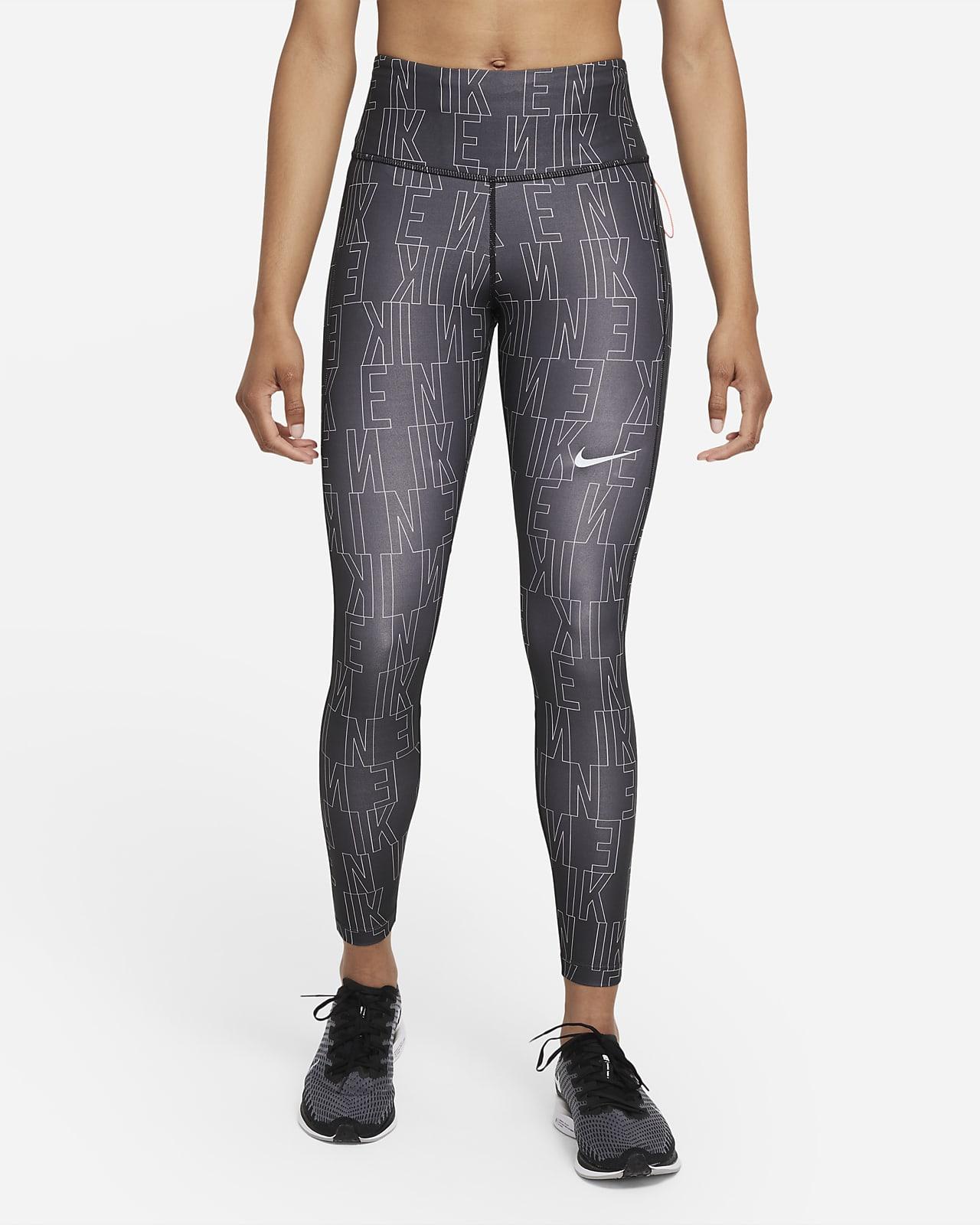 เลกกิ้งวิ่งเอวปานกลางผู้หญิง Nike Dri-FIT Run Division Epic Fast