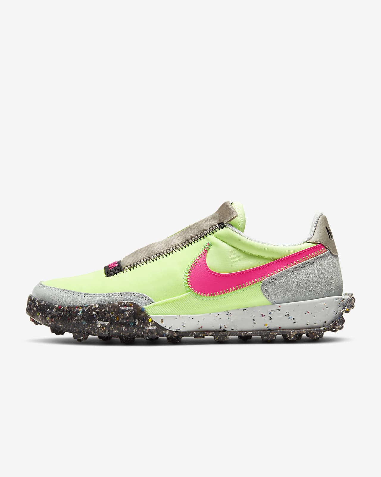 Chaussure Nike Waffle Racer Crater pour Femme