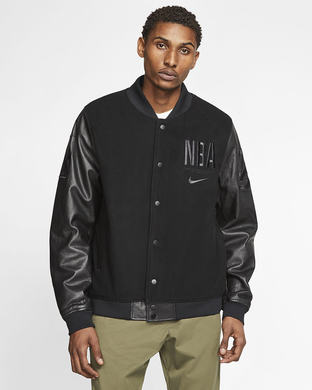 Nike Courtside 'Paris' Men's NBA Destroyer Jacket