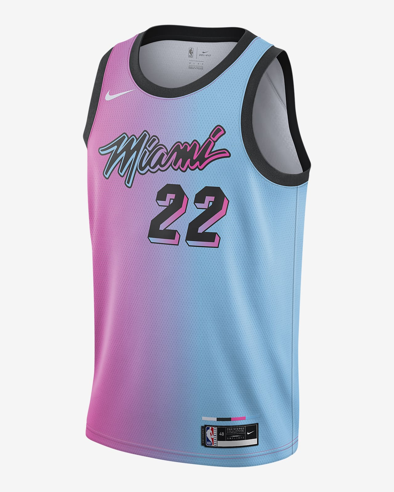 Camisola NBA da Nike Swingman Miami Heat City Edition