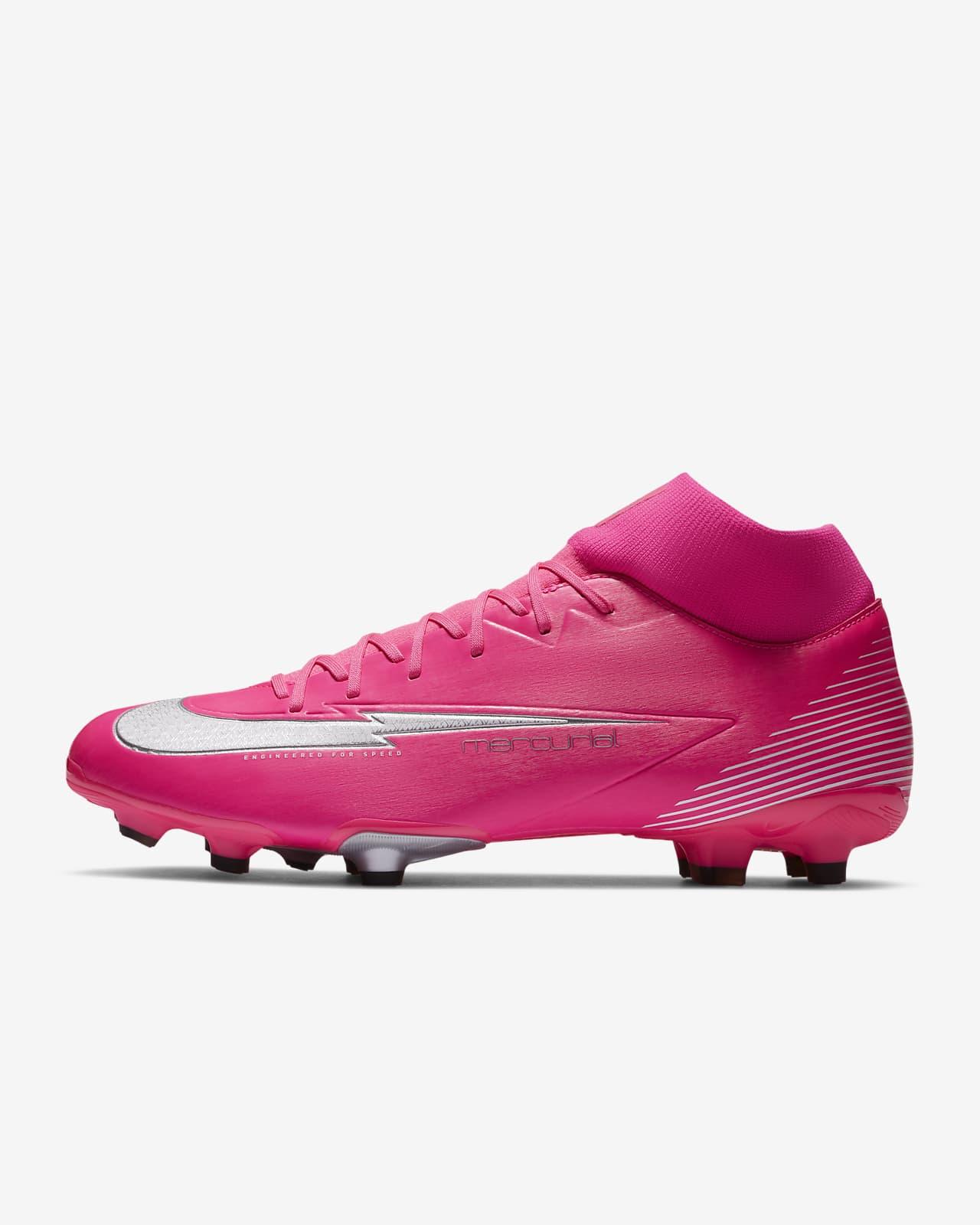 Nike Mercurial Superfly 7 Academy Mbappé Rosa MG Fußballschuh für verschiedene Böden