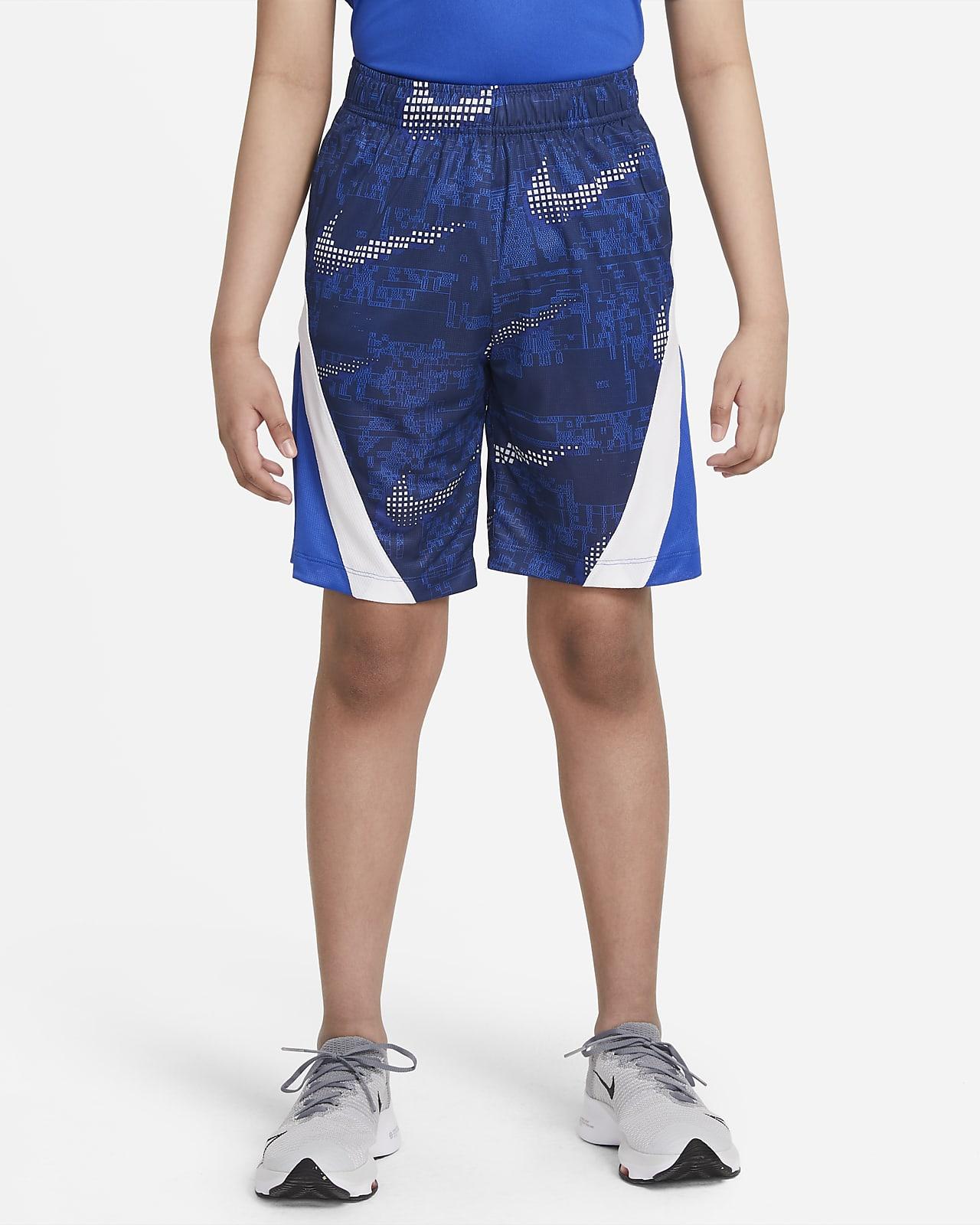 Nike Dominate 大童 (男童) 印花訓練短褲