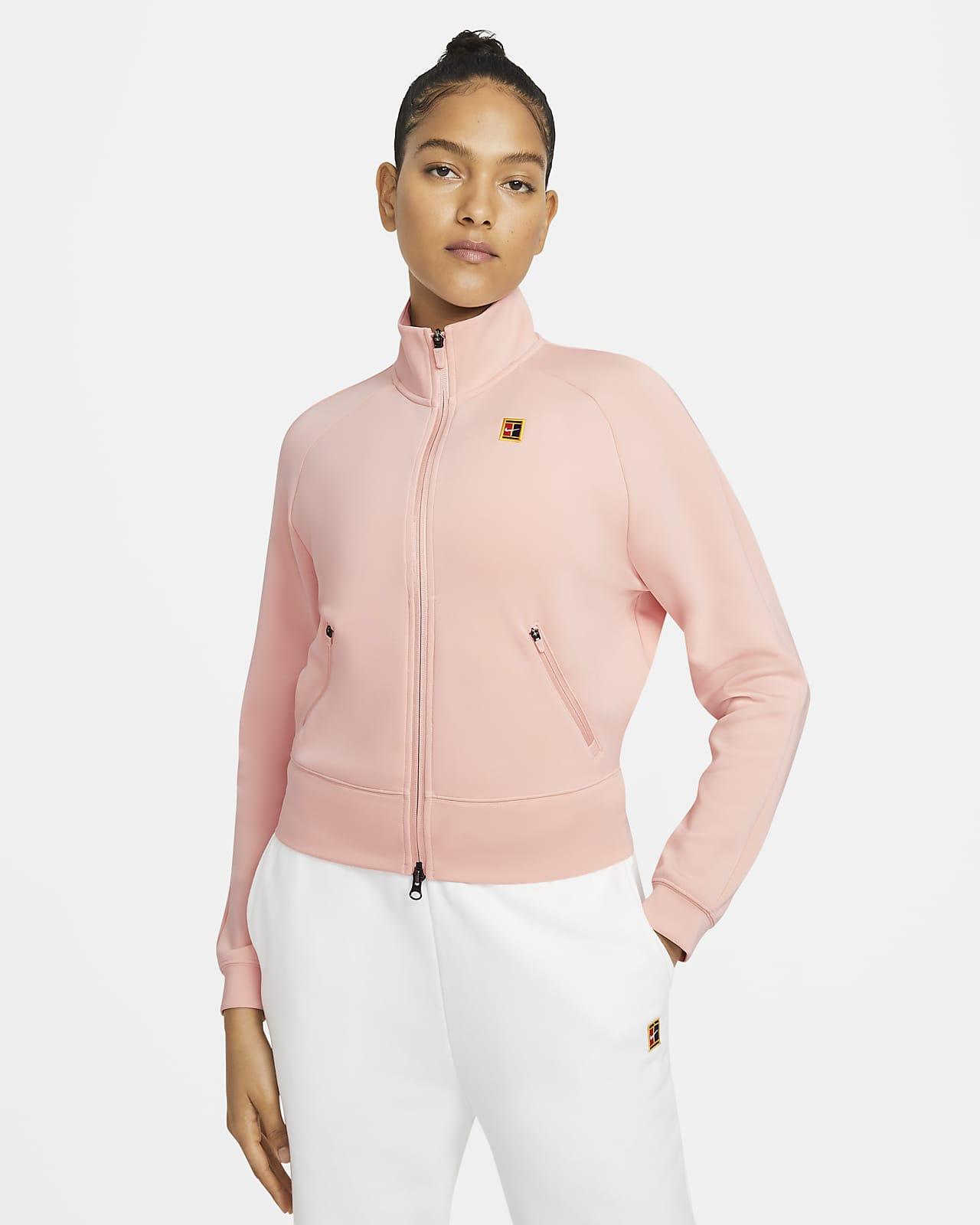 Giacca da tennis con zip a tutta lunghezza NikeCourt - Donna