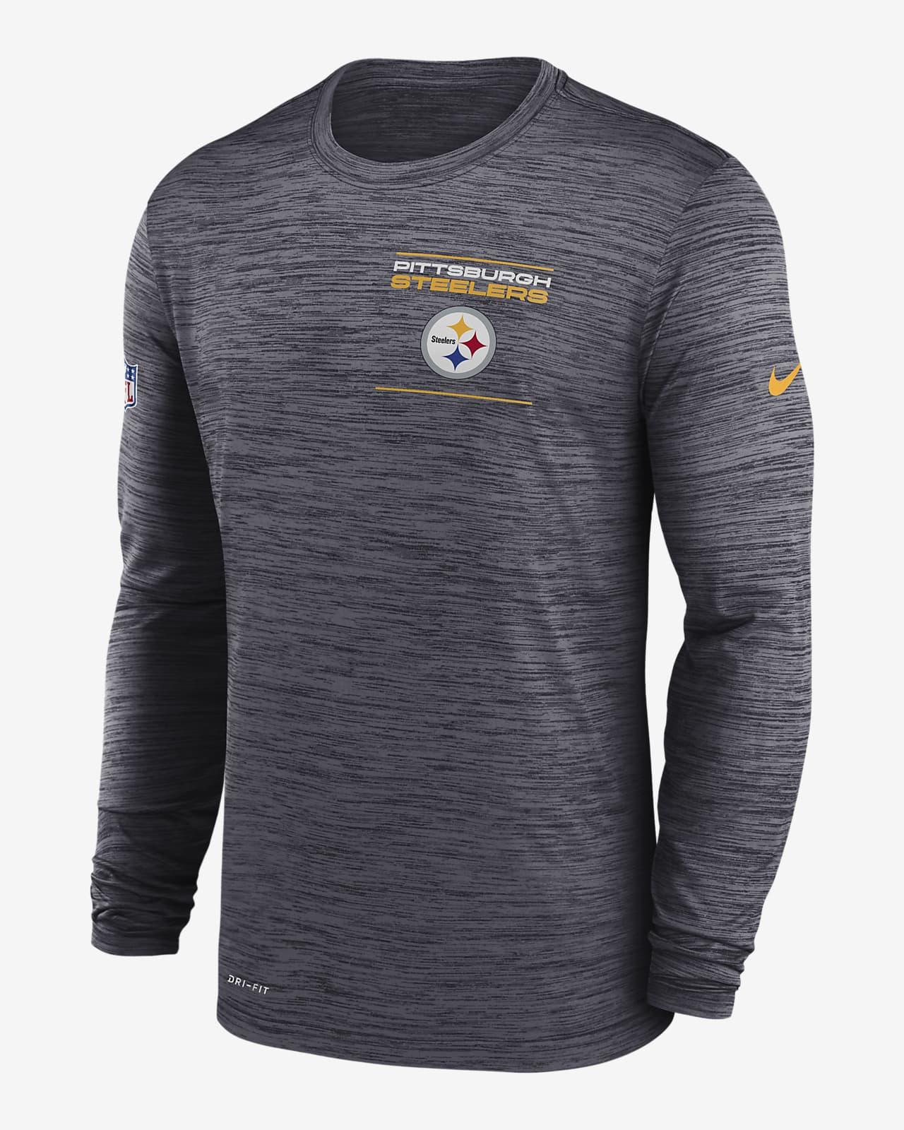 Nike Dri-FIT Sideline Velocity Legend (NFL Pittsburgh Steelers) Men's Long-Sleeve T-Shirt