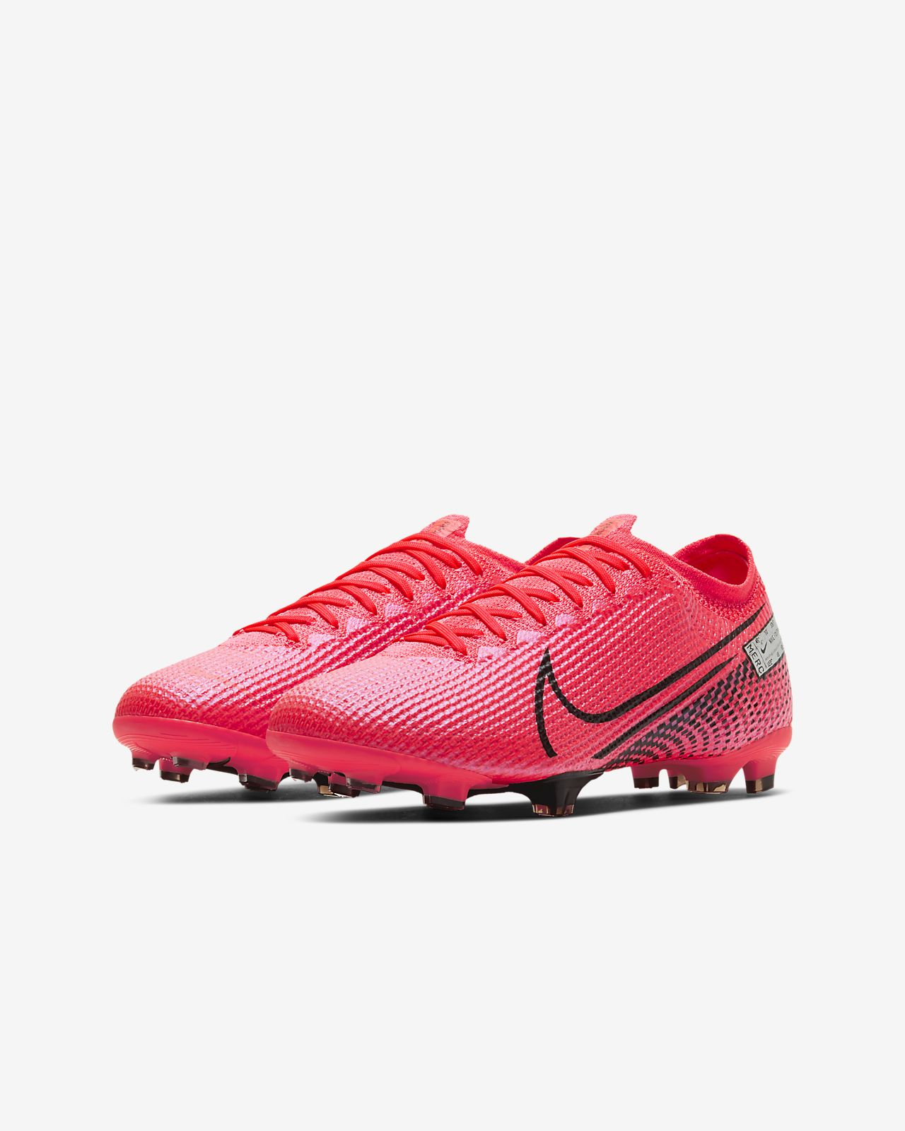 Kjøp Nike Barn Mercurial Vapor XII Pro FG Fotballsko Sort