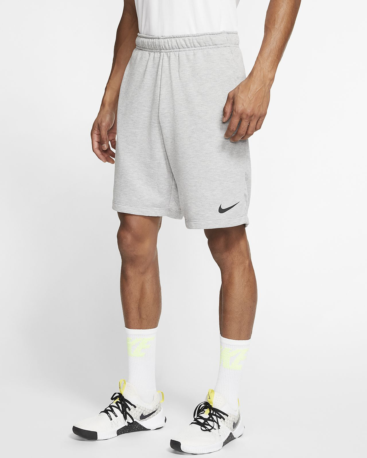 Short de training en tissu Fleece Nike Dri-FIT pour Homme