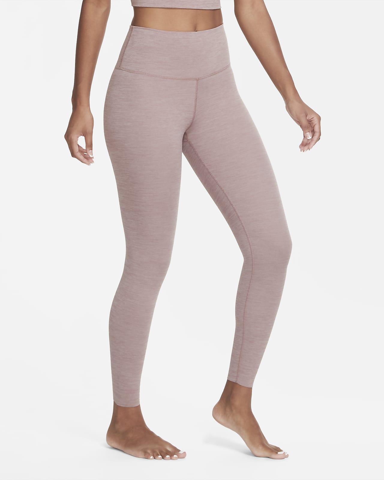 Женские слегка укороченные тайтсы из ткани Infinalon Nike Yoga Luxe