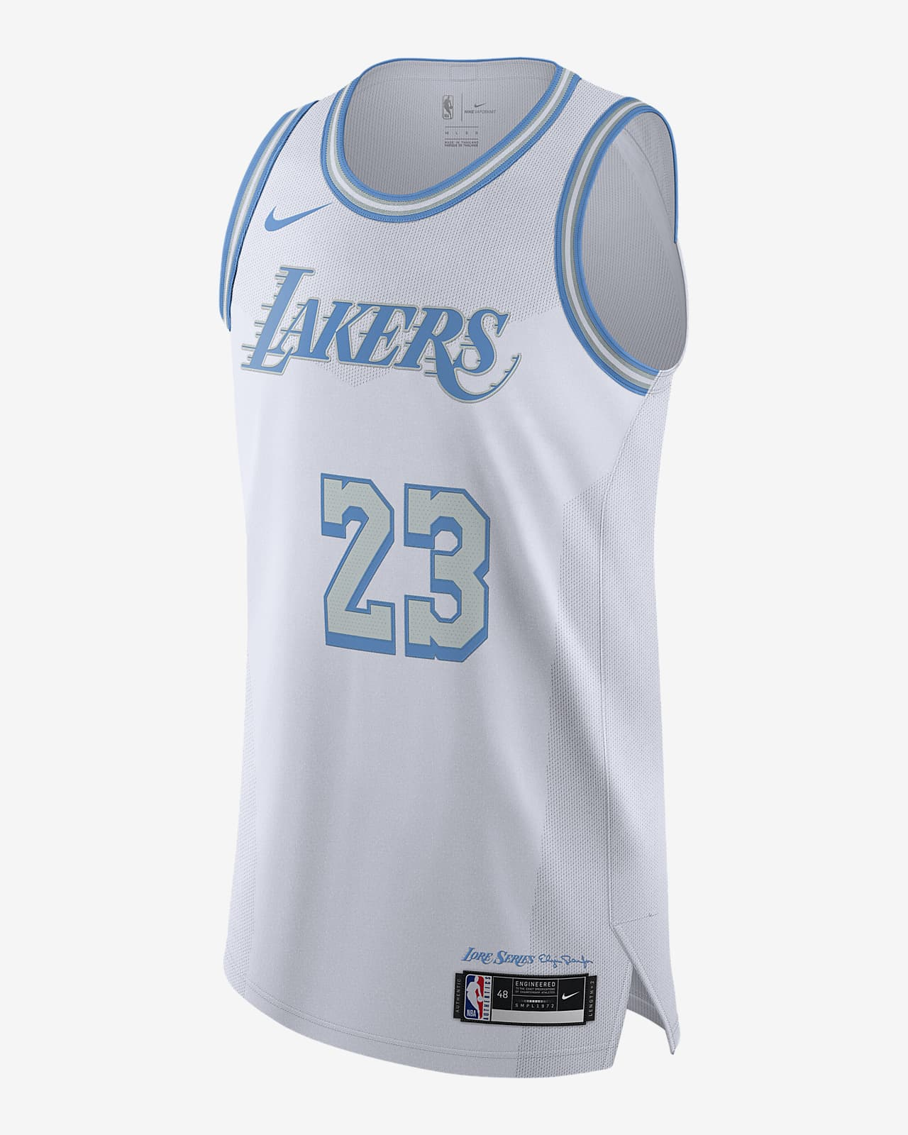 Maillot Nike NBA Authentic Los Angeles Lakers City Edition