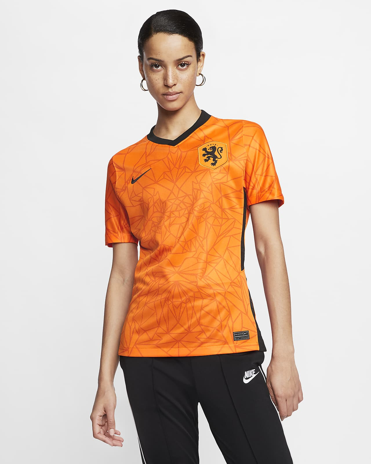 Niederlande 2020 Stadium Home Damen-Fußballtrikot