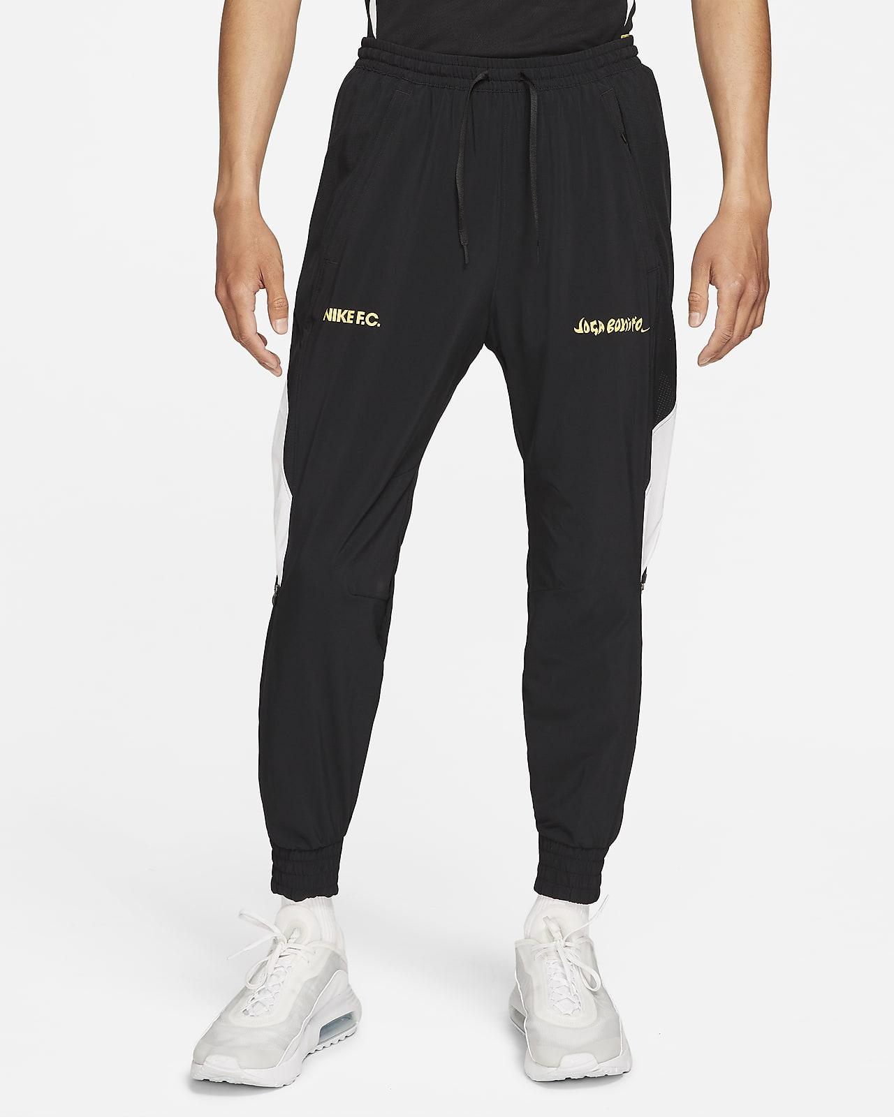 กางเกงวอร์มฟุตบอลแบบทอผู้ชาย Nike F.C.
