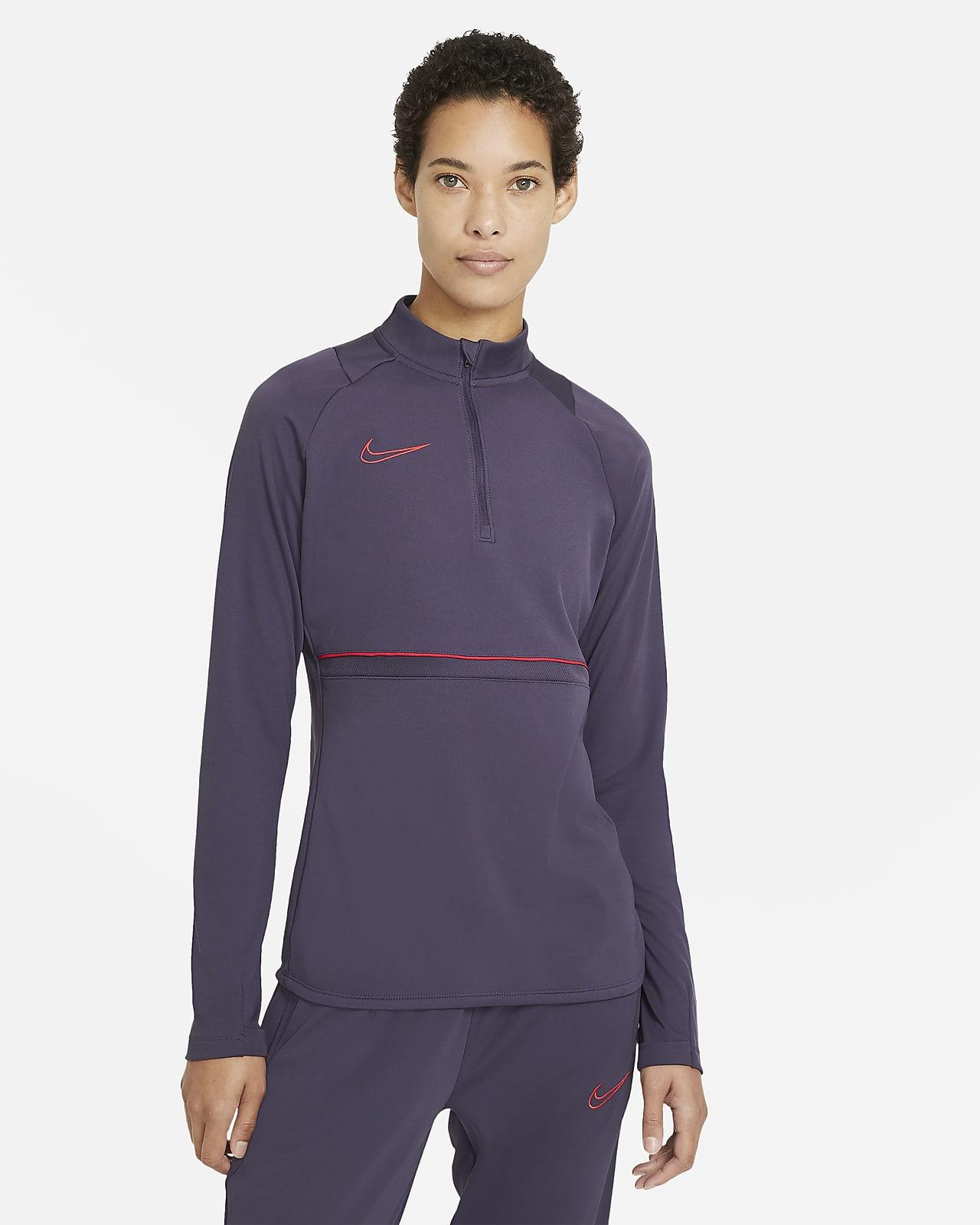 Nike Dri-FIT Academy Drill-Fußballoberteil für Damen