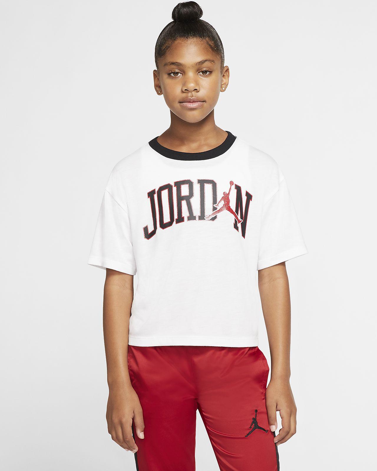 Jordan Jumpman Older Kids' (Girls') Short Sleeve T Shirt