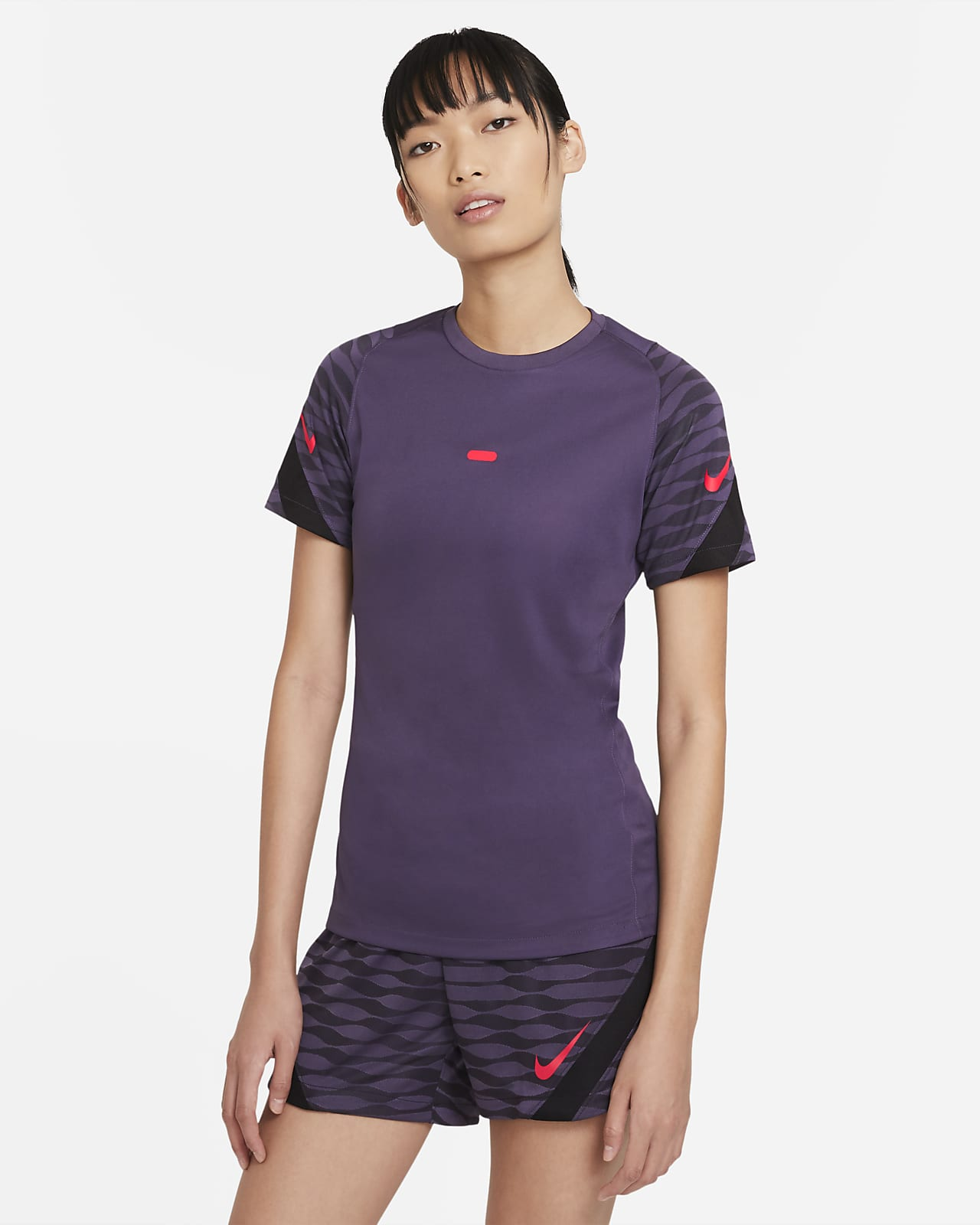 Nike Dri-FIT Strike rövid ujjú női futballfelső