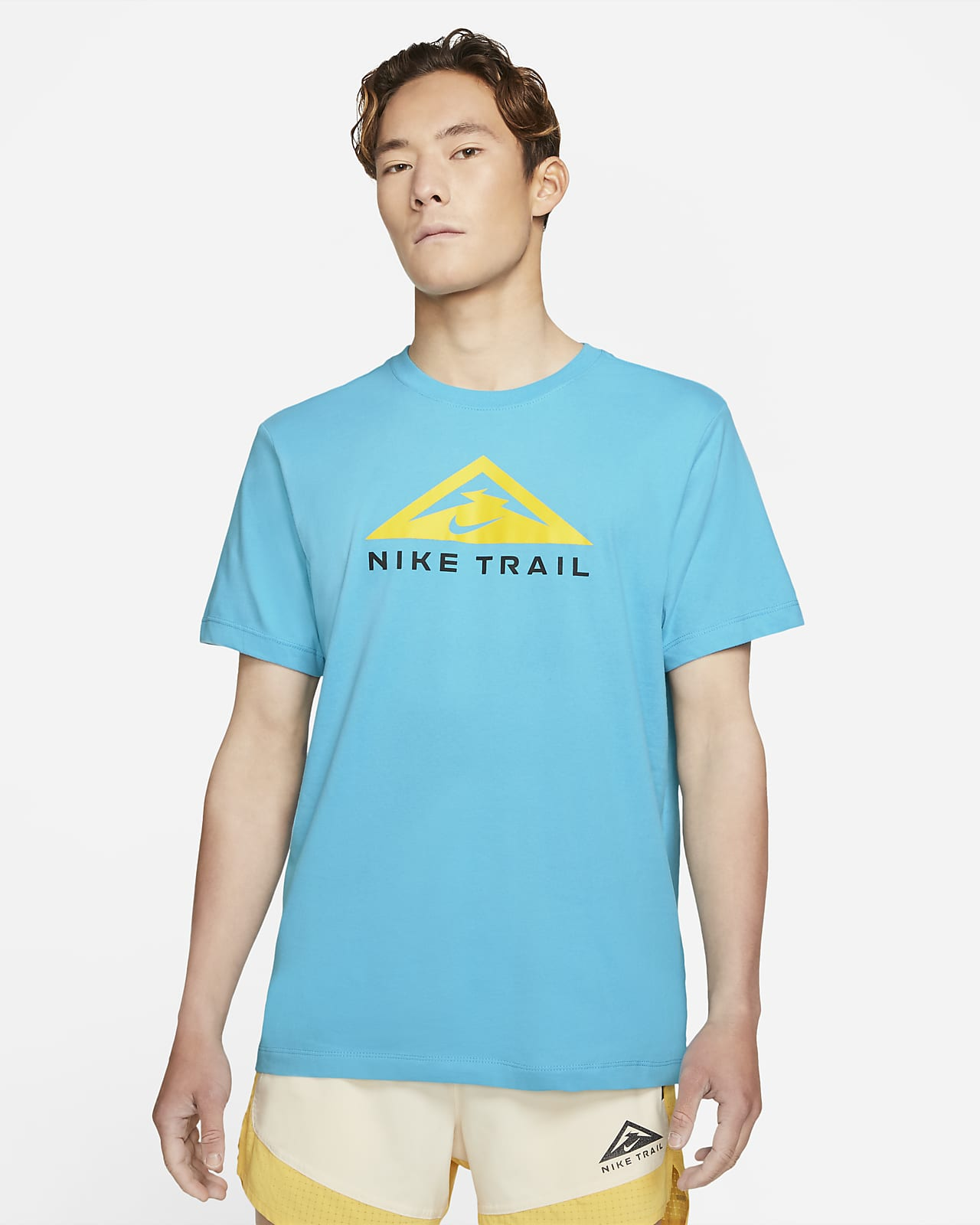 Nike Dri-FIT Short-Sleeve Trail Running T-Shirt