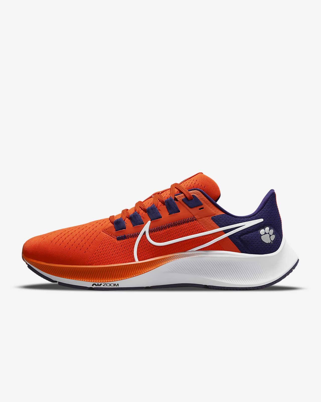 Nike College Air Zoom Pegasus 38 (Clemson) Running Shoe