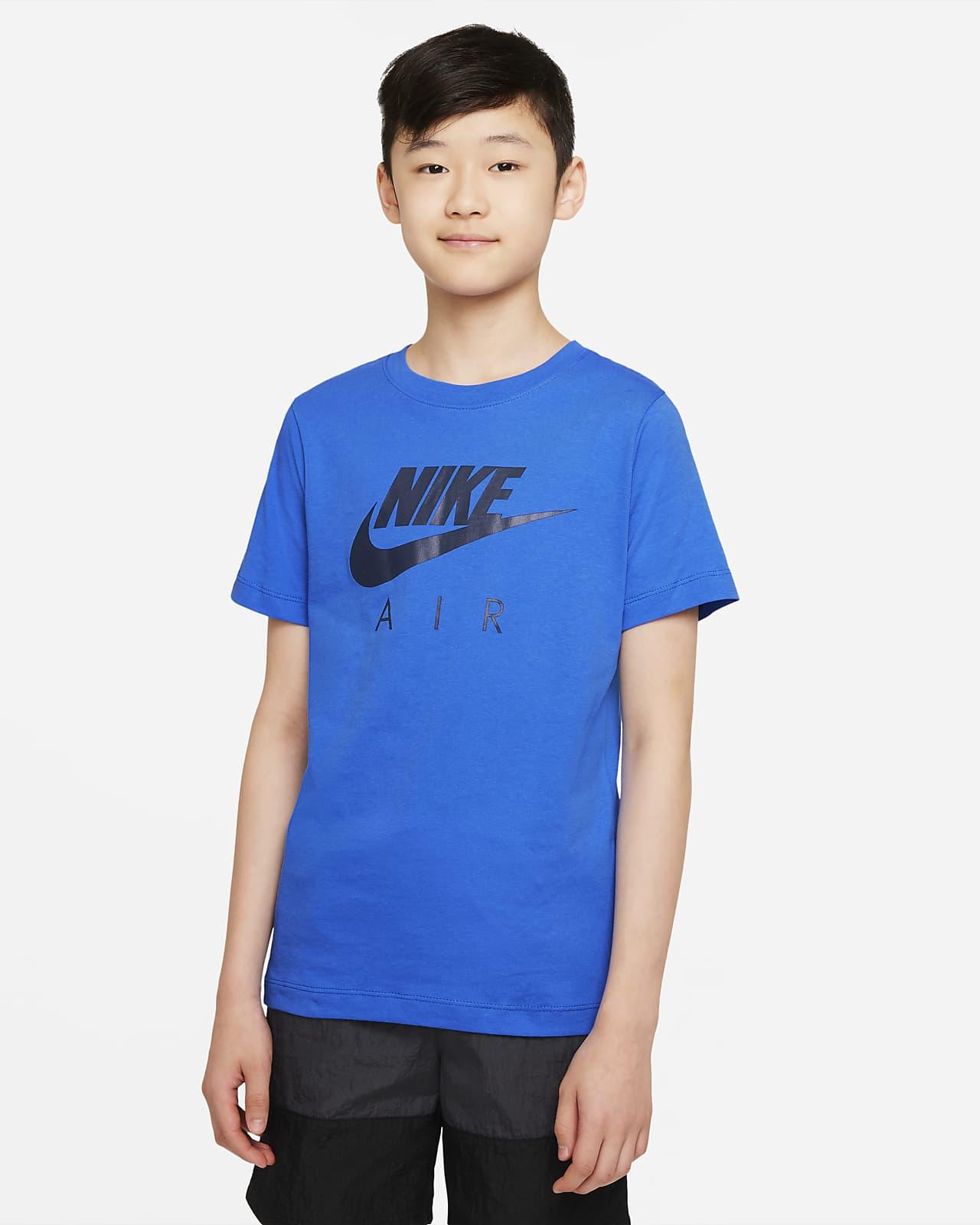 Playera Nike Air talla grande (para niños)